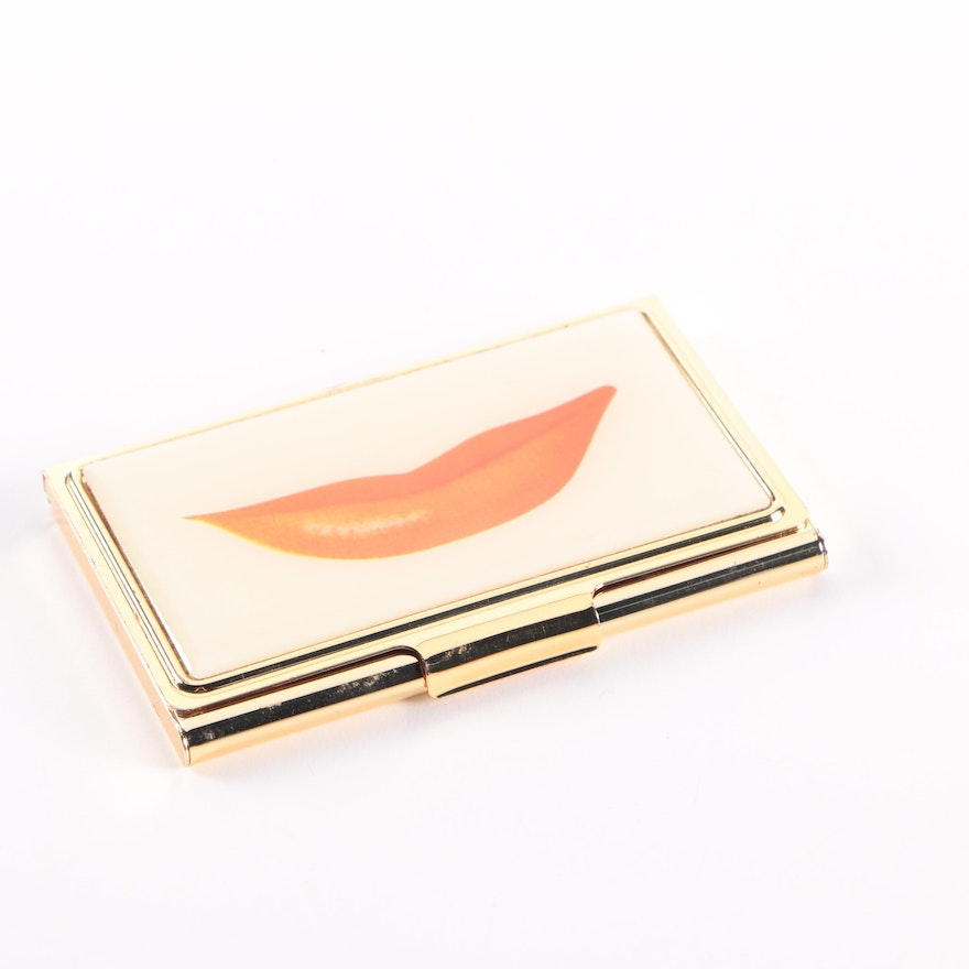 kate spade snap happy business card holder by lenox - Kate Spade Business Card Holder