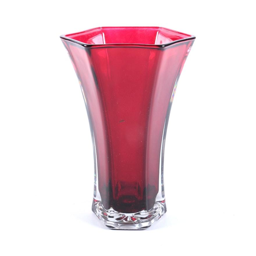 Vintage Hoosier Glass Vase Ebth