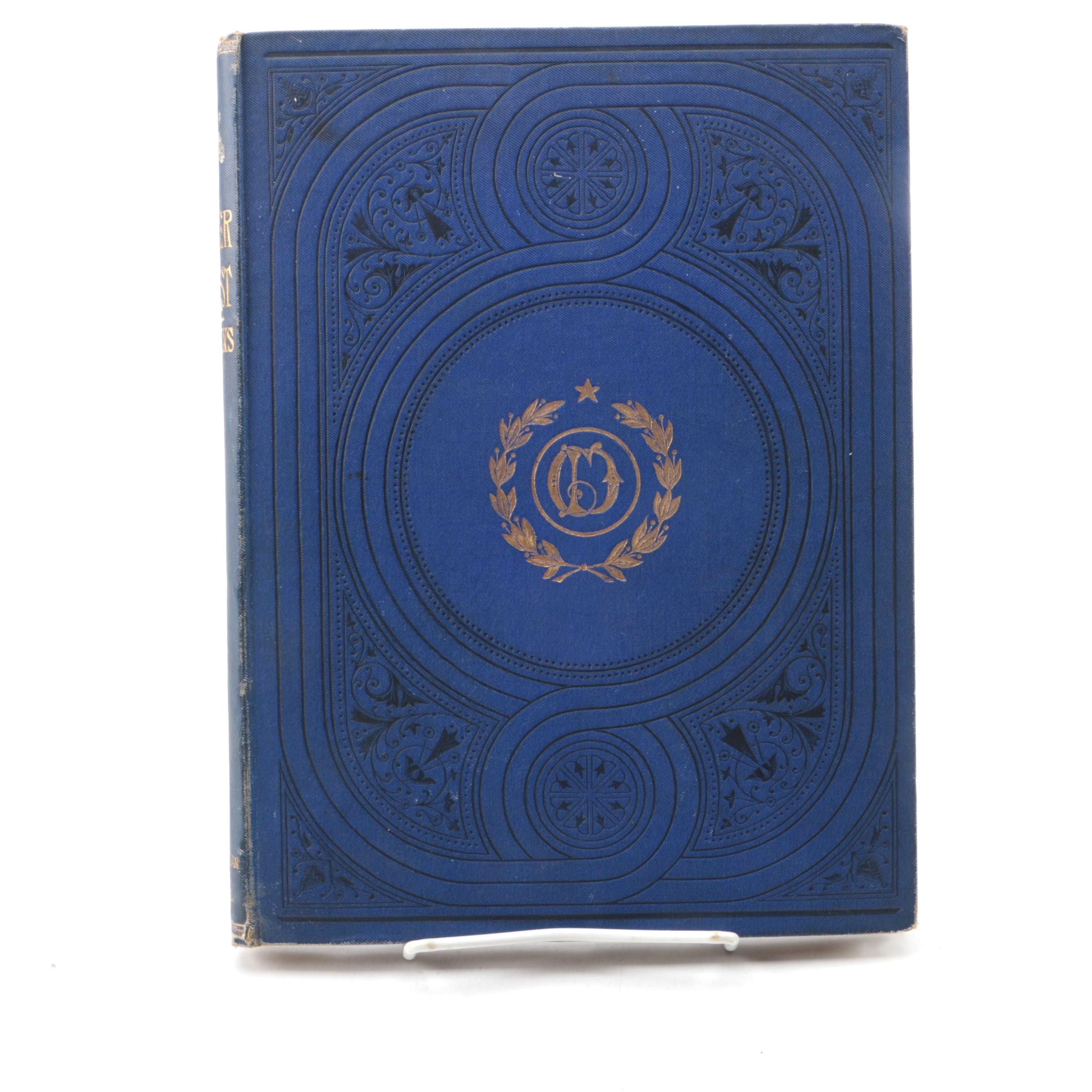 """Antique """"Oliver Twist"""" by Charles Dickens with Illustrations by J. Mahoney"""