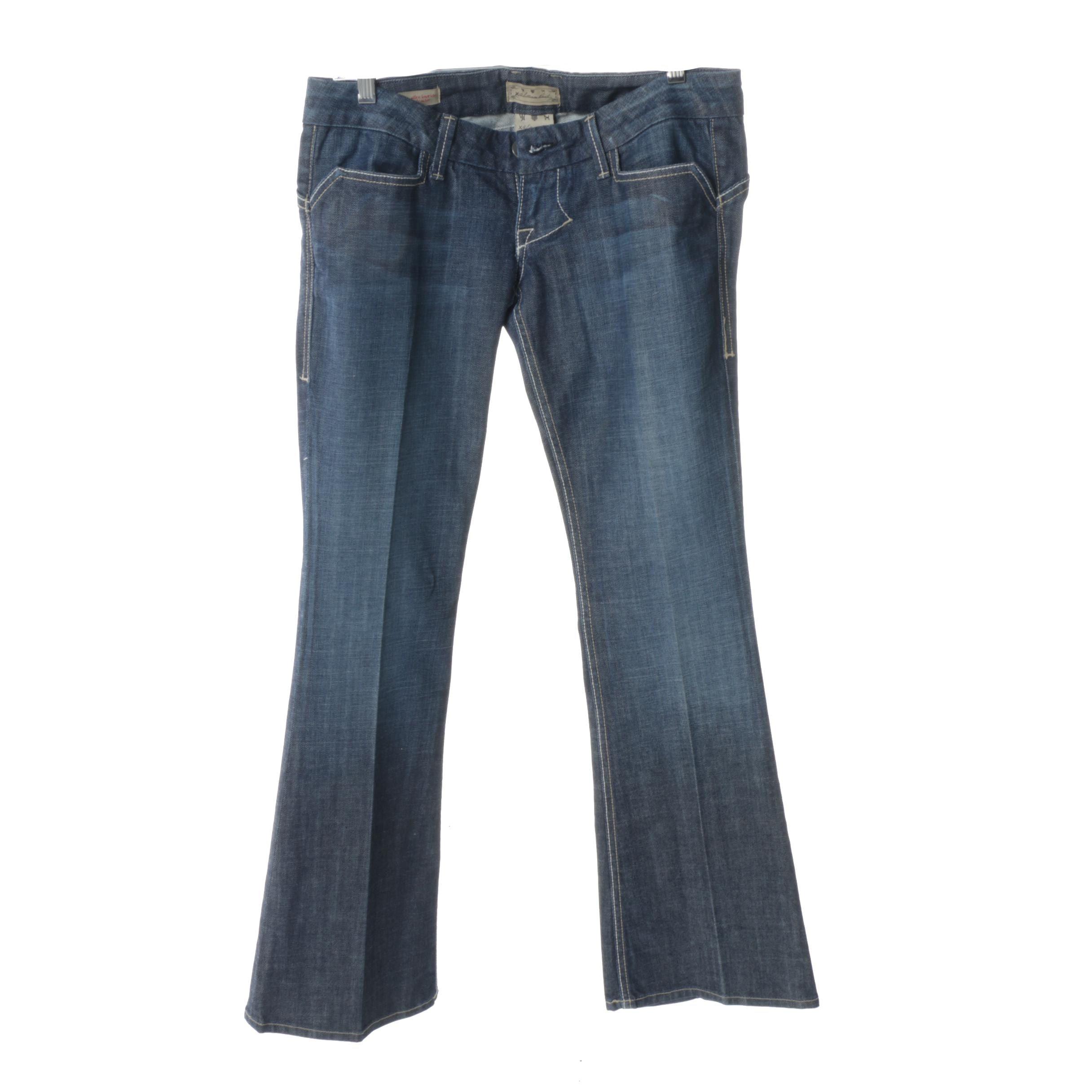 Women's William Rast Savoy Ultra Low Rise Trouser Jeans