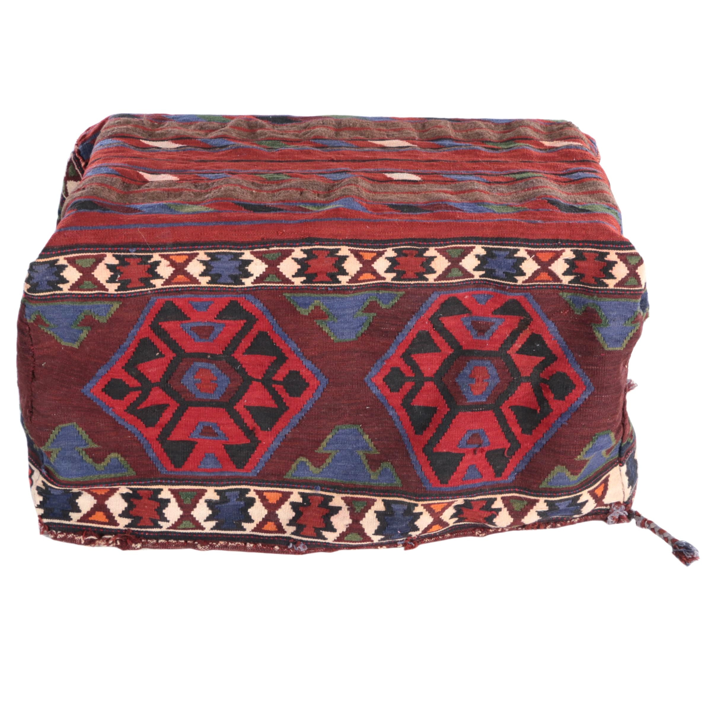 Vintage Handwoven Anatolian Mafrash/Bench Cover