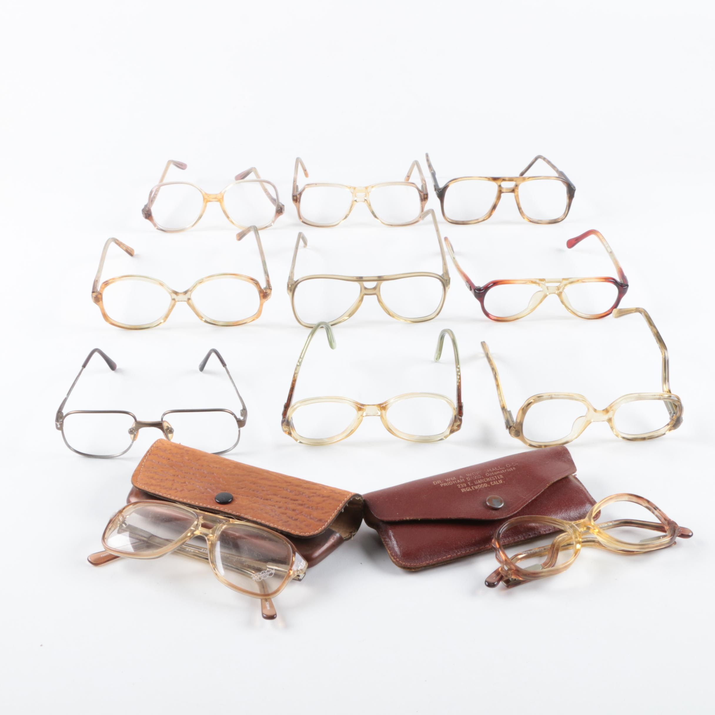 Children's Eyeglass Frames Including Vintage Victory and Liberty