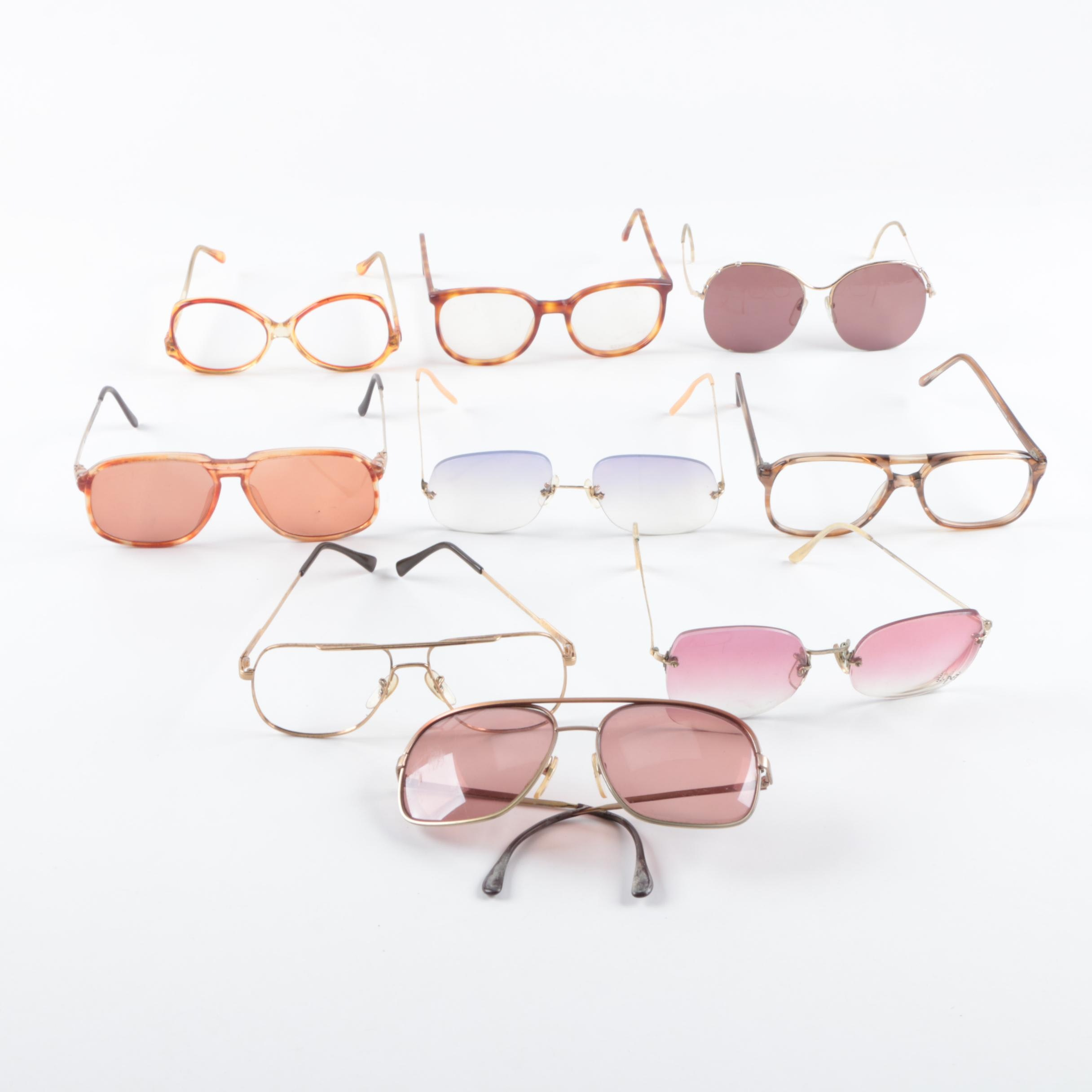 Vintage and Fashion Eyeglasses and Sunglasses