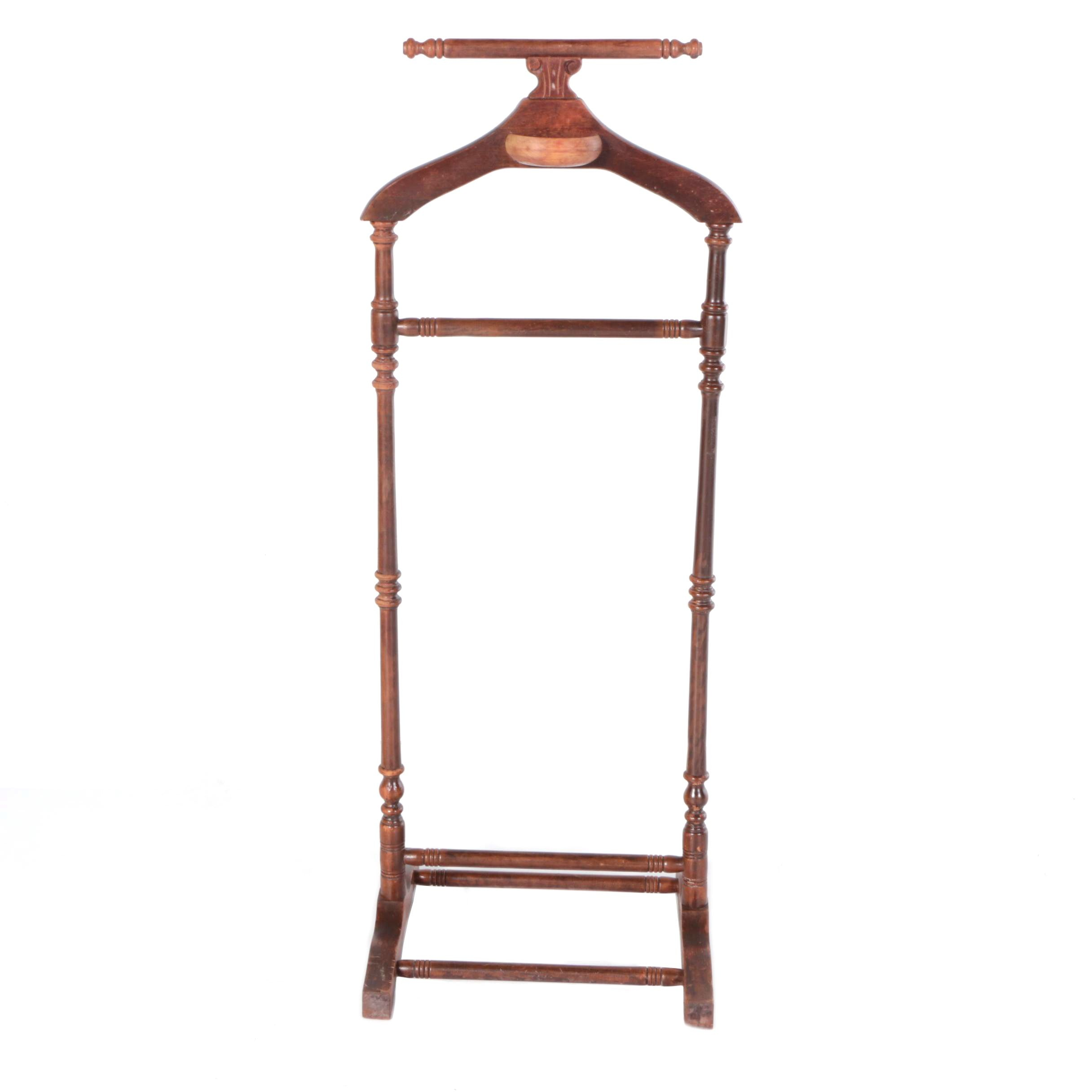 Wooden Valet Stand