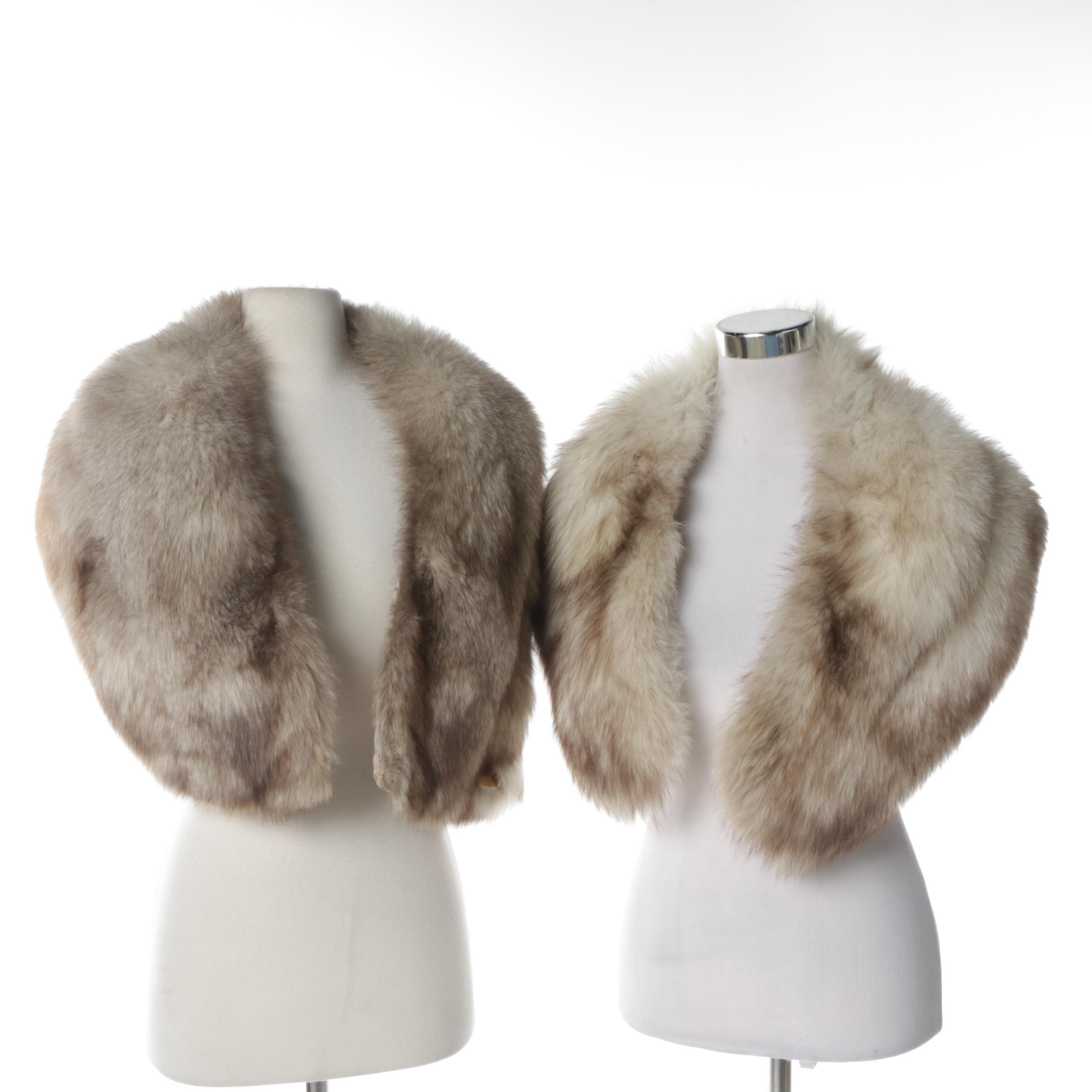 Women's Vintage Fox Fur Stoles