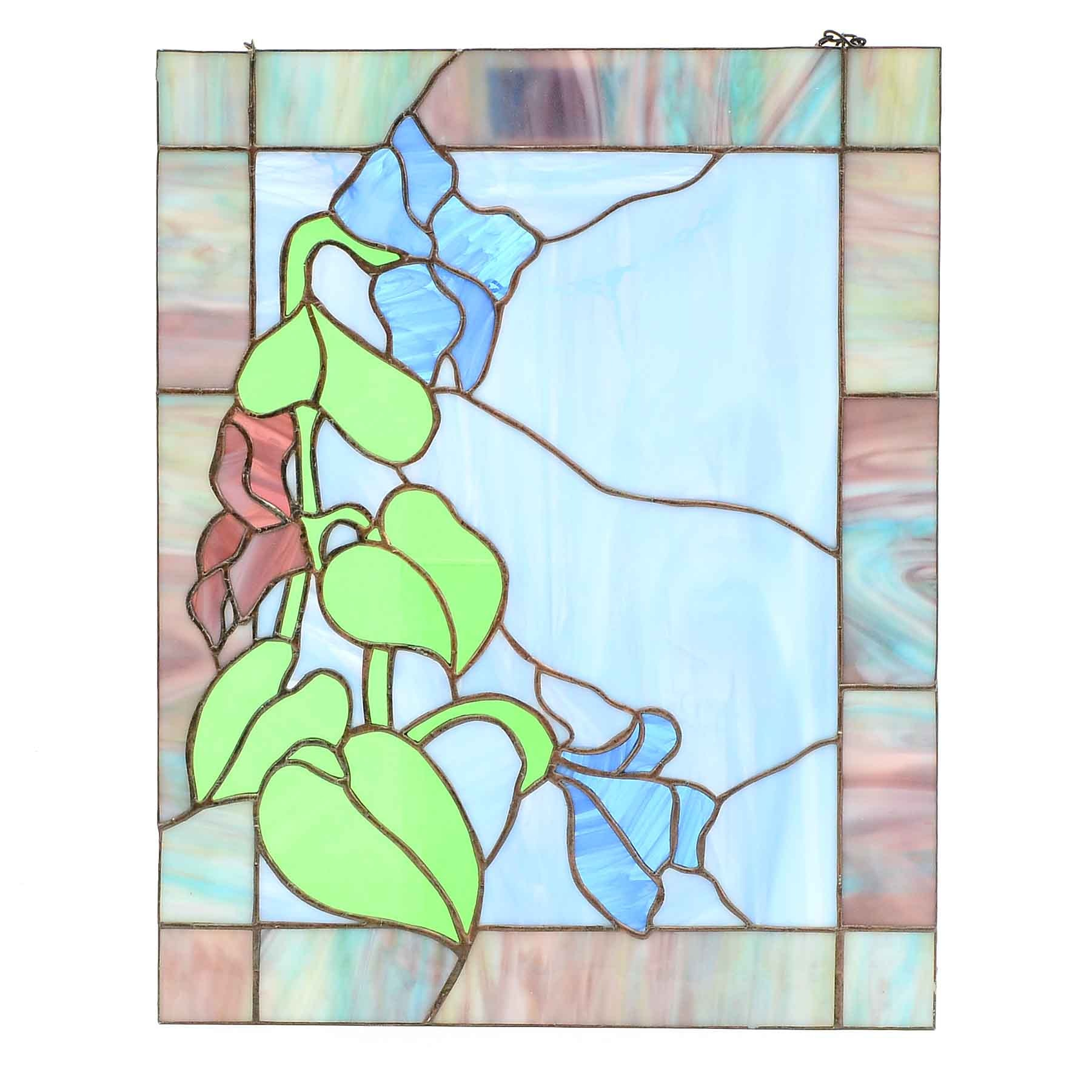 Decorative Stained Glass Window Pane