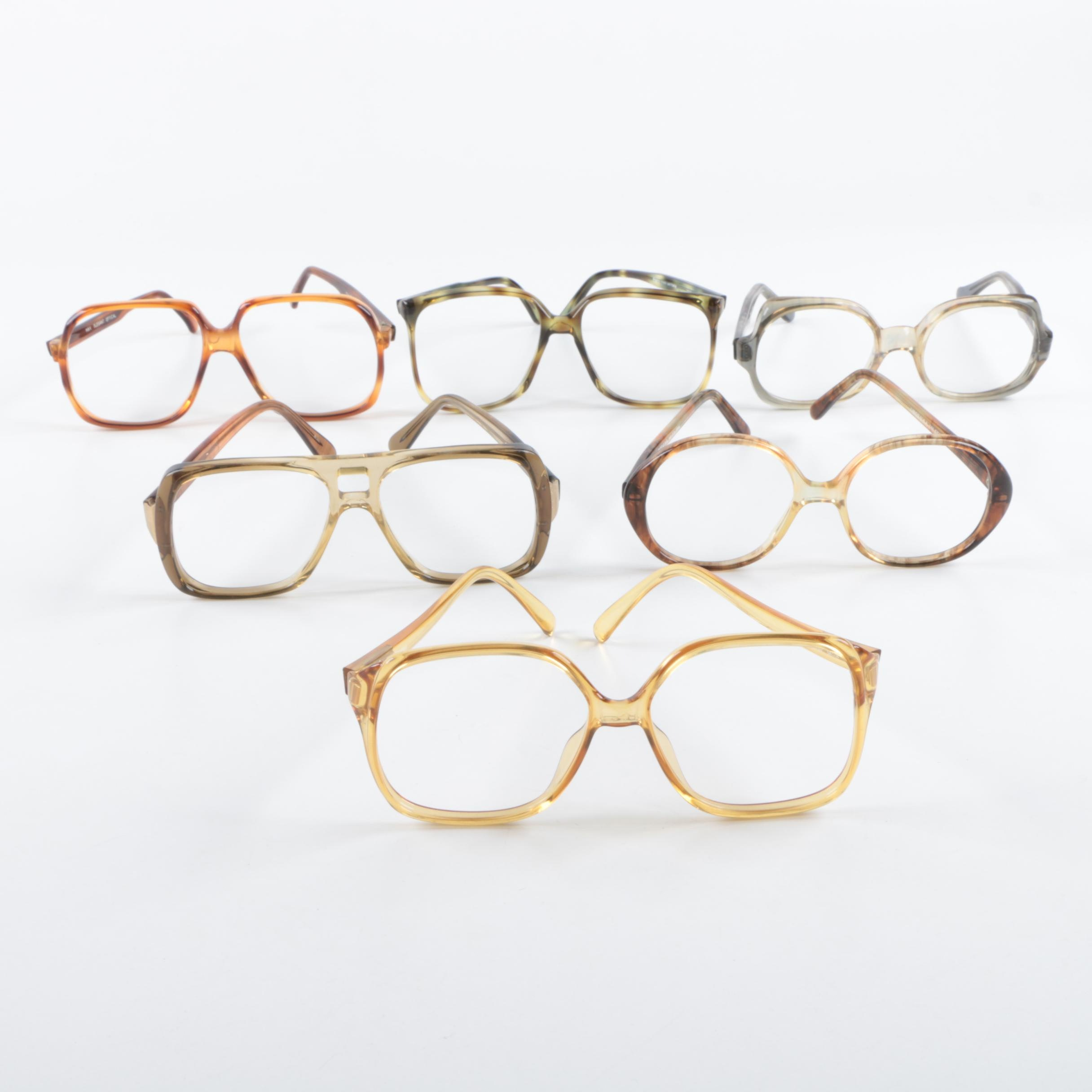 Vintage Eyeglass Frames, Including Max Elegant Optical