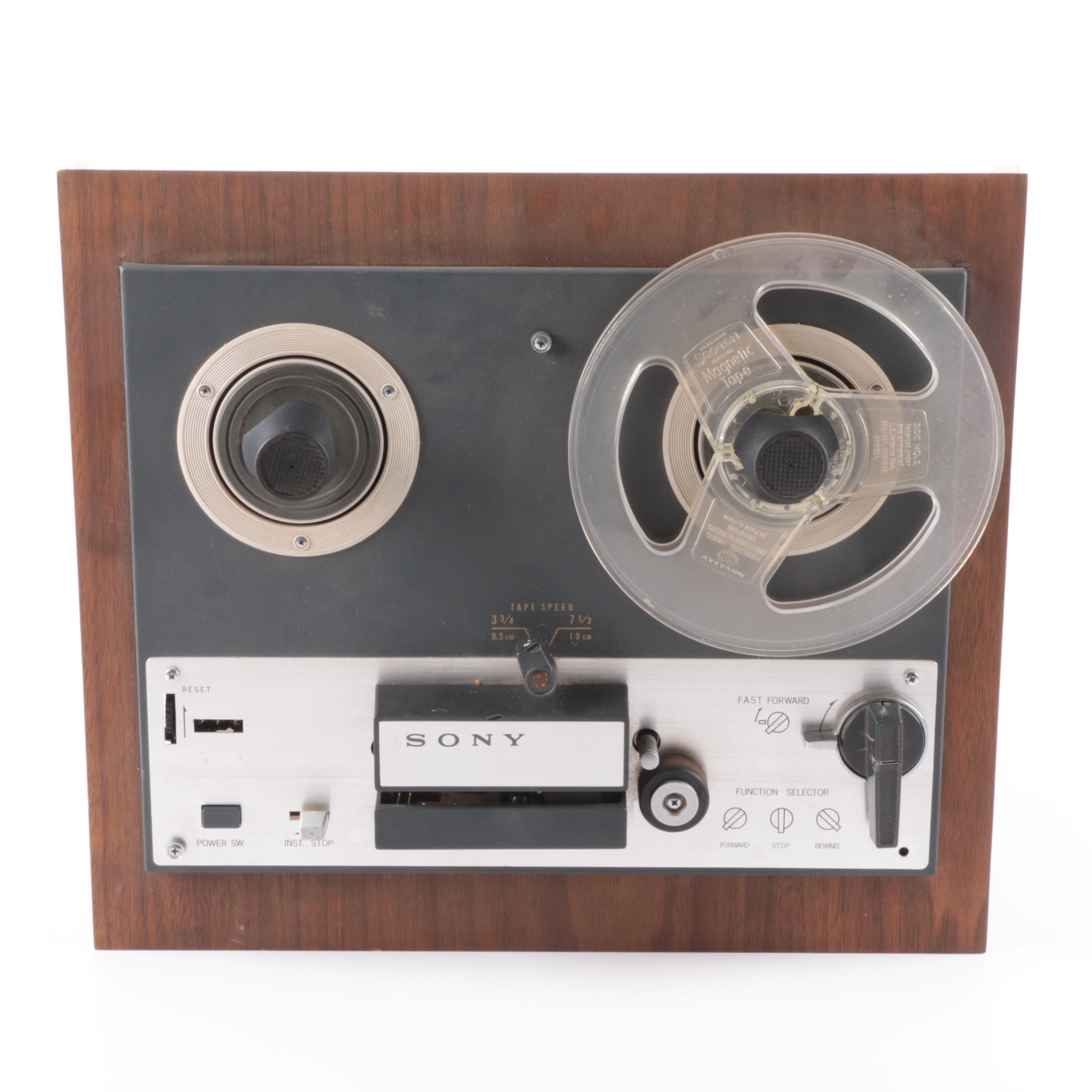 Vintage Sony Superscope TC-263D Tapecorder