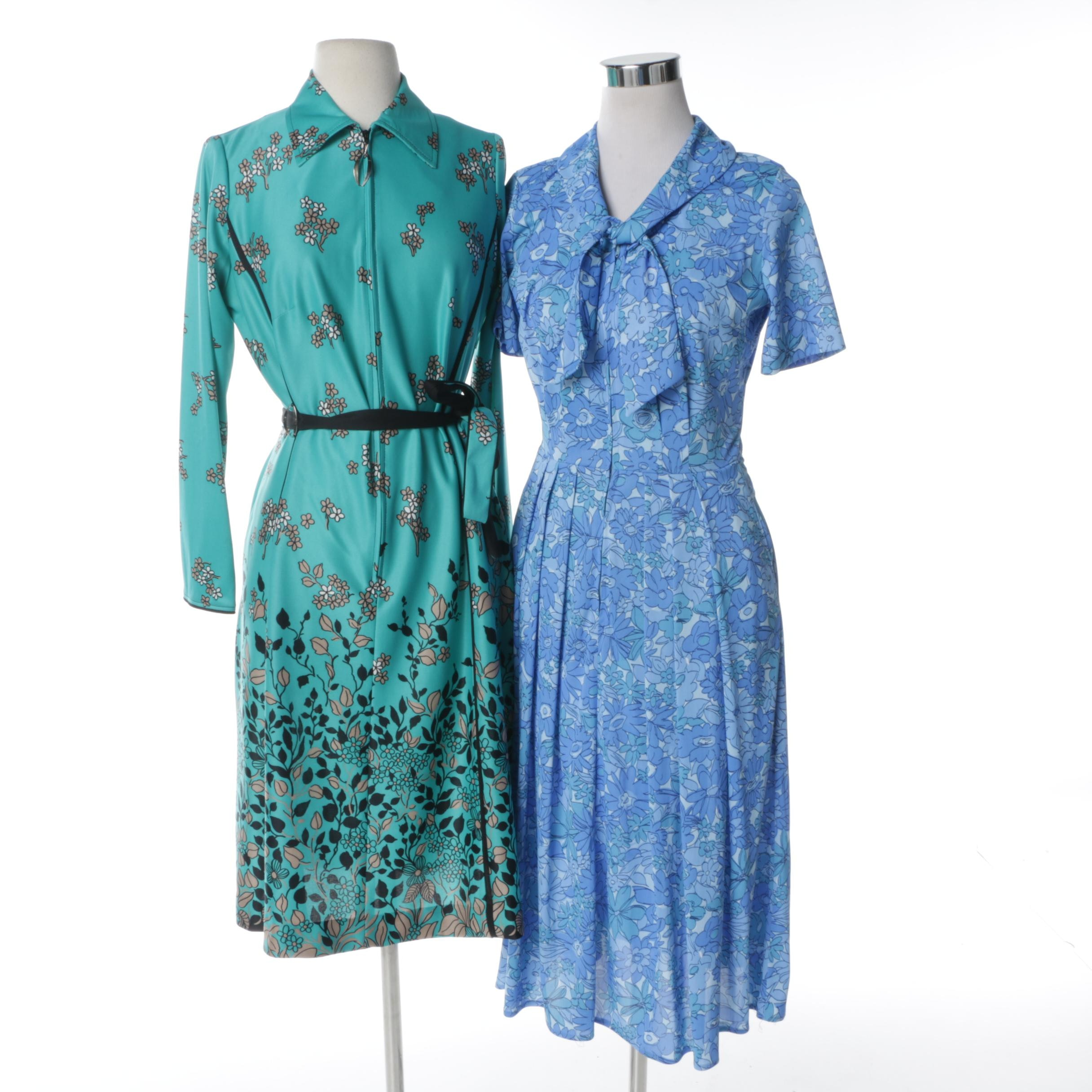 Vintage Floral Summer Dresses Including Shelton Stroller and Lorac Original