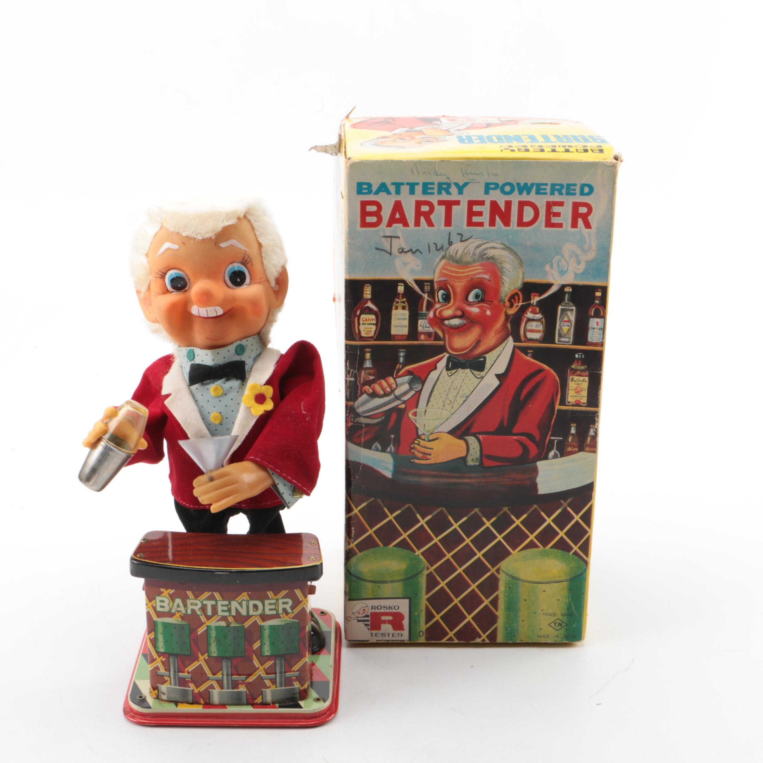 1962 Battery Powered Bartender by Rosko