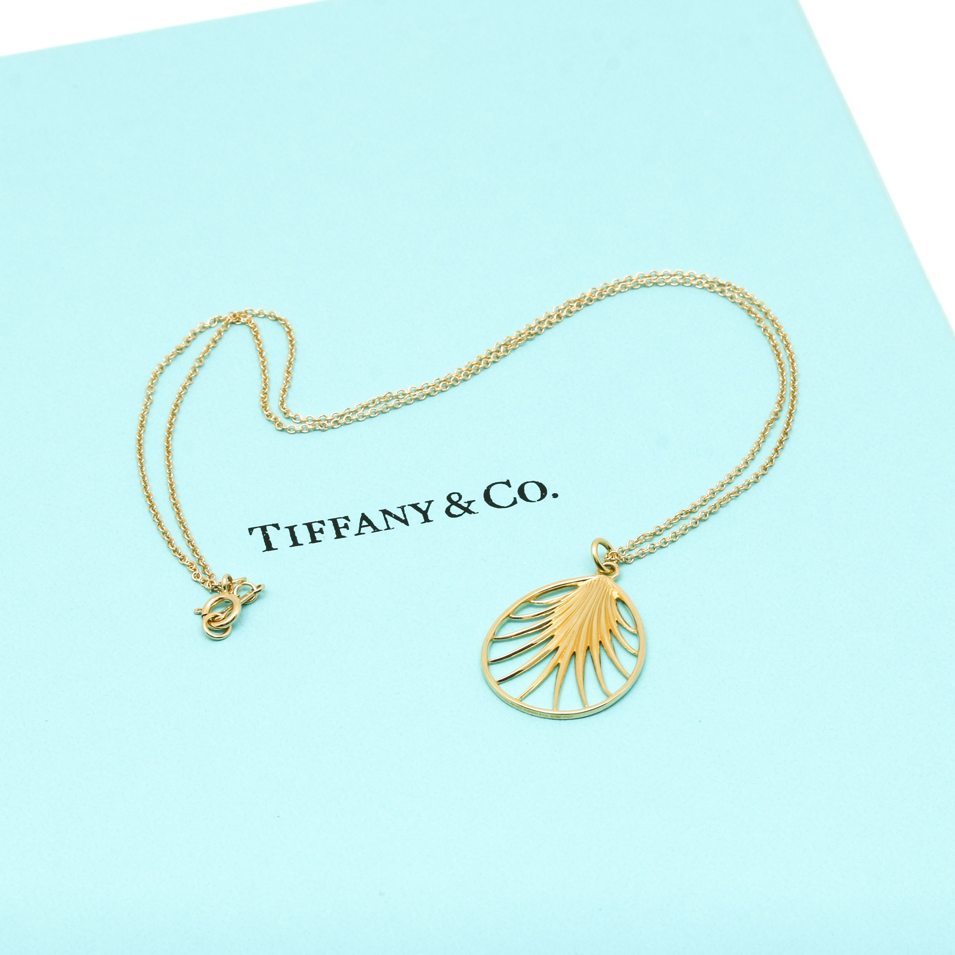Paloma Picasso for Tiffany & Co. 18K Yellow Gold Pendant Necklace