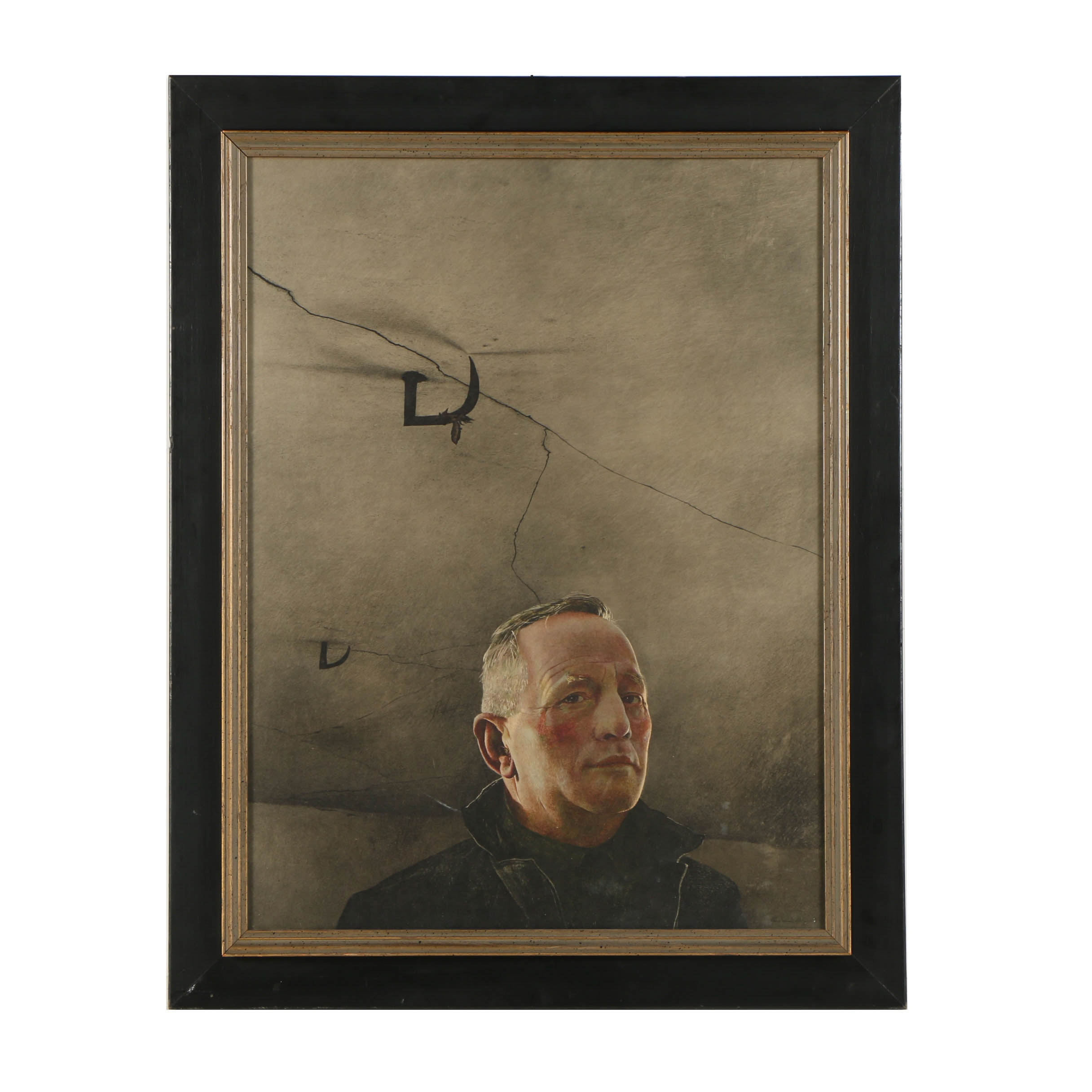 "Reproduction Print After Andrew Wyeth ""Karl"""