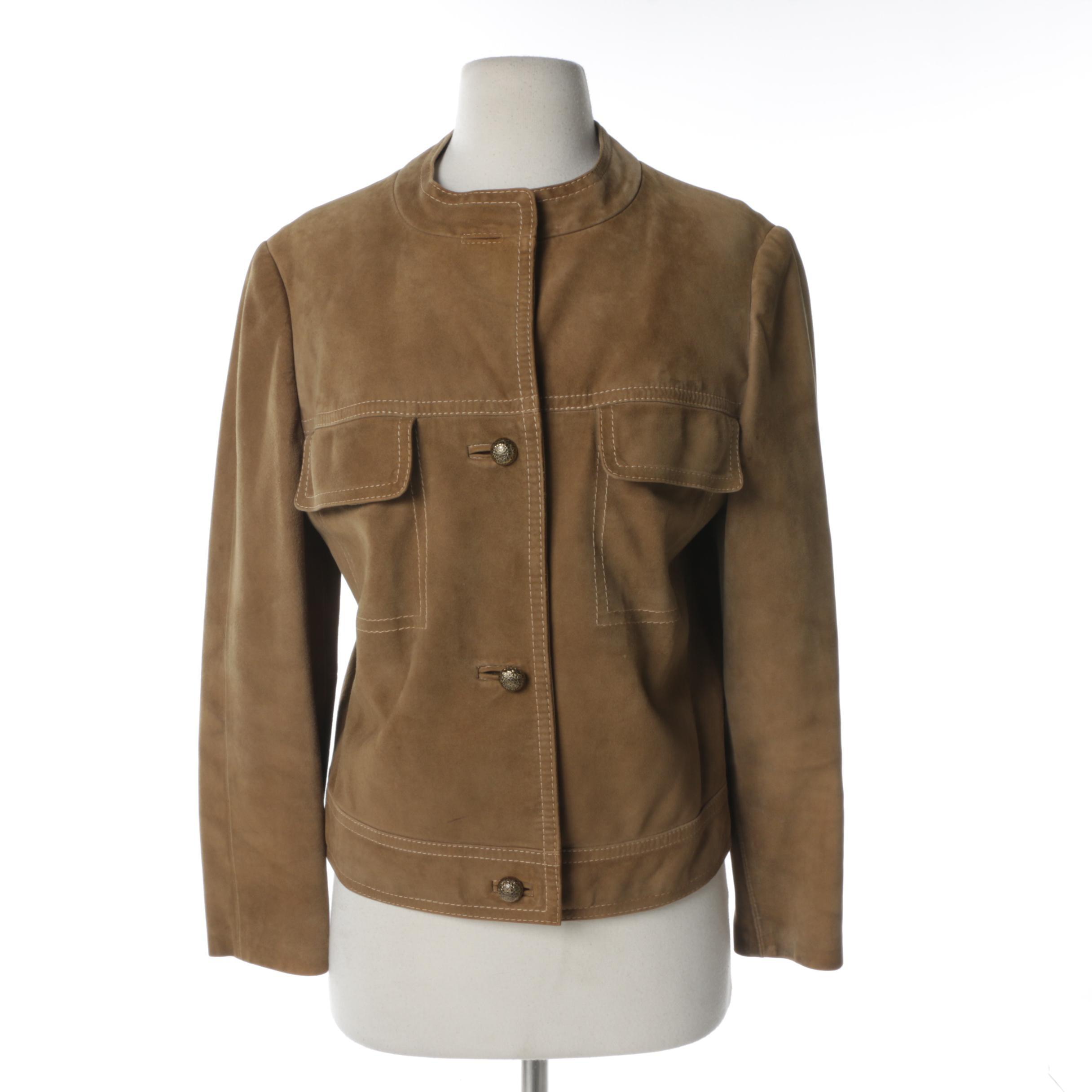 Women's Spieth Style Suede Jacket