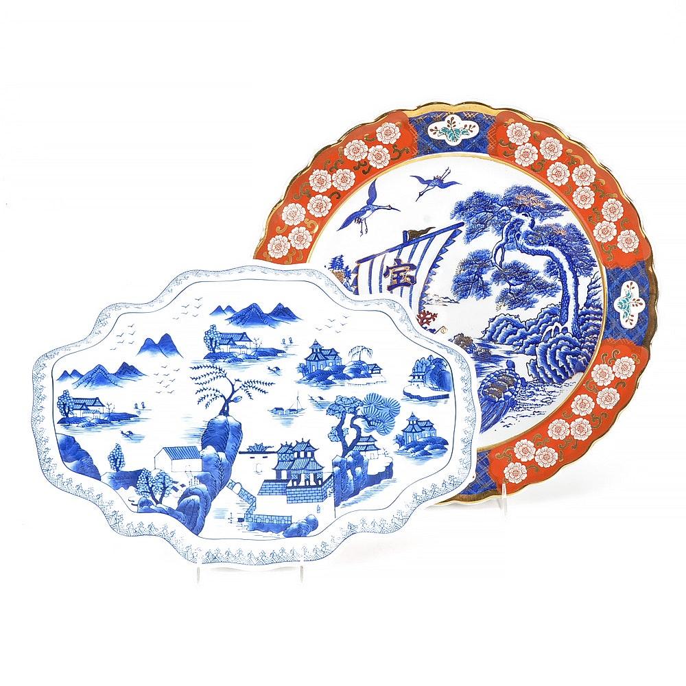 East Asian Ceramic Platters