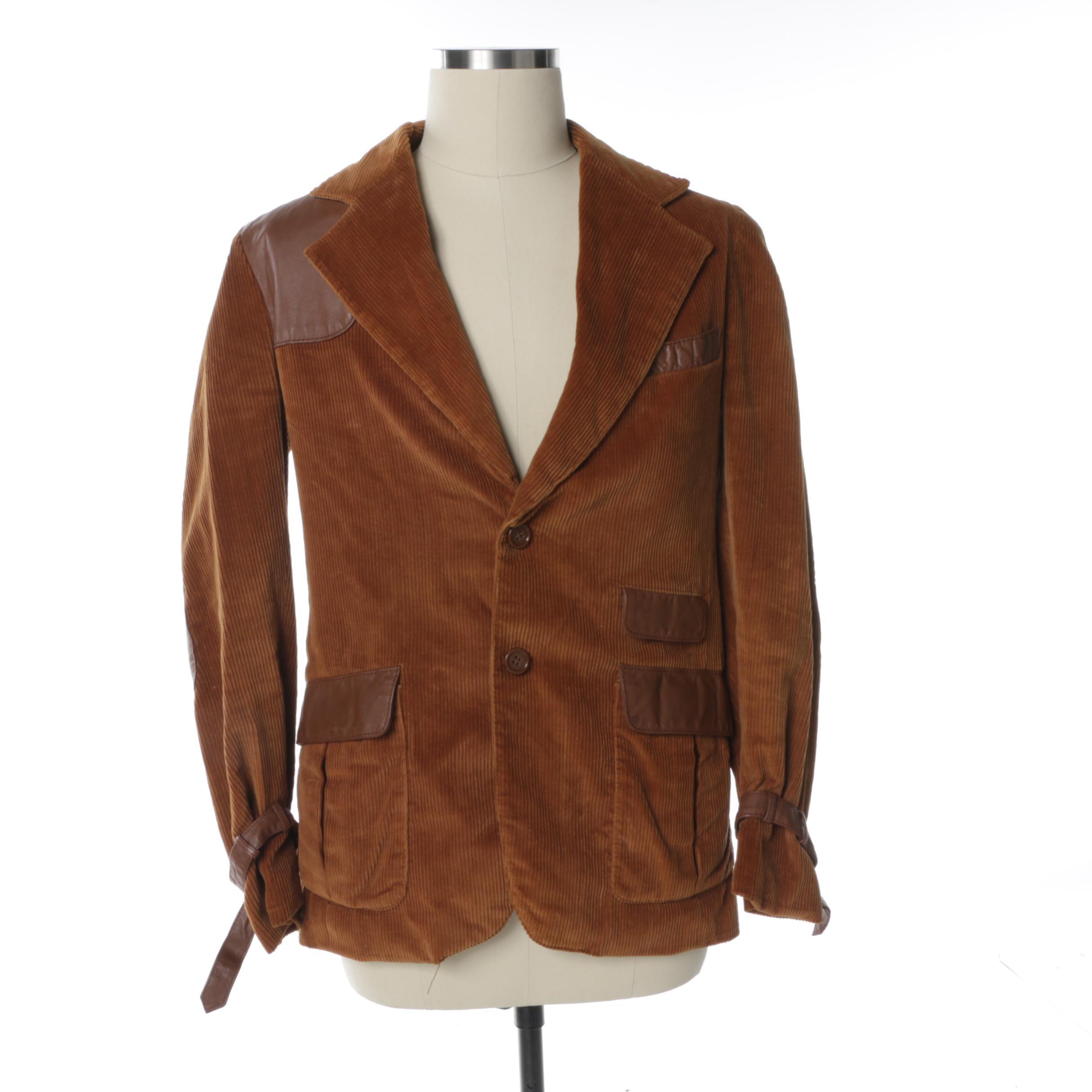Men's Vintage Corduroy Jacket
