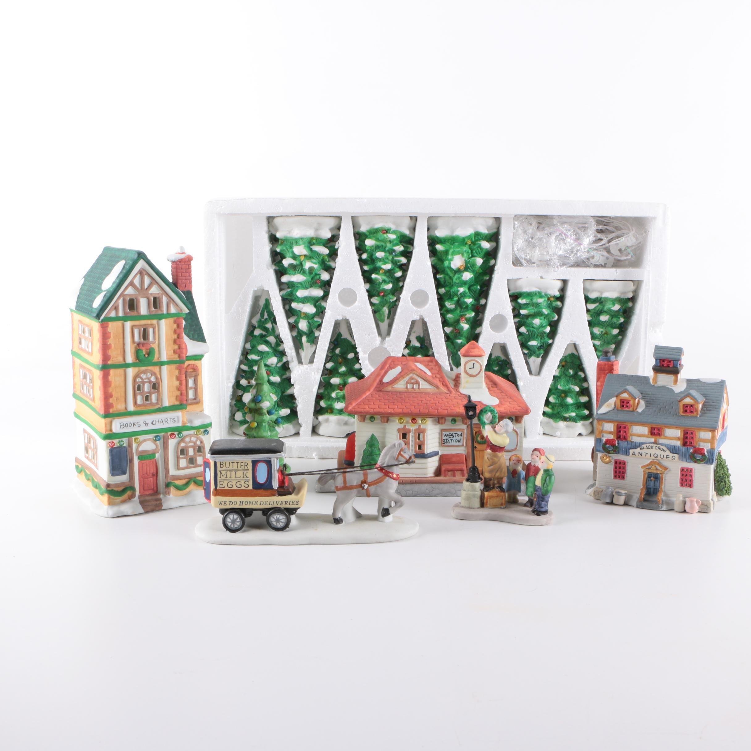 Lemax Christmas Houses and Decor