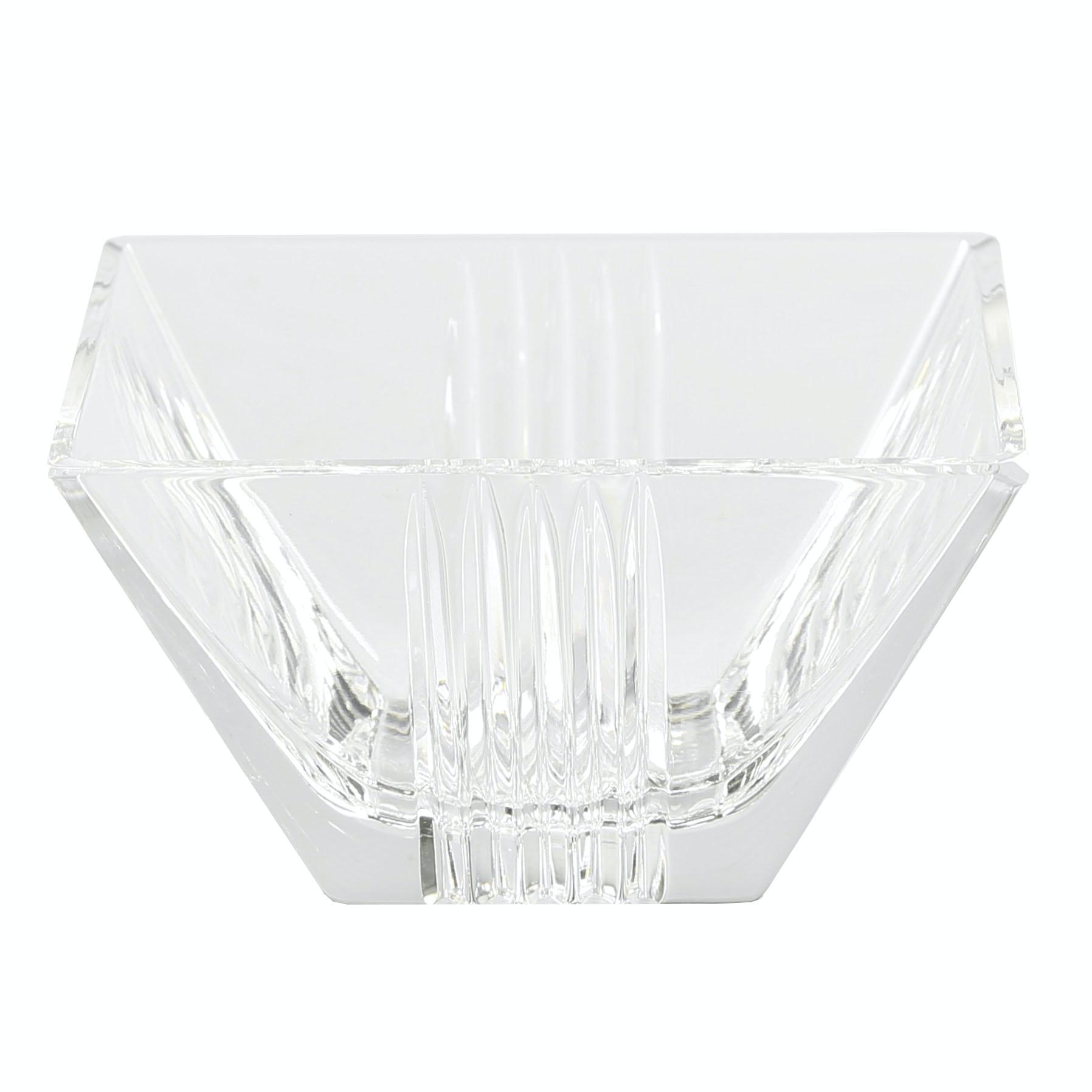 "Tiffany & Co. ""Metropolis"" Crystal Bowl"
