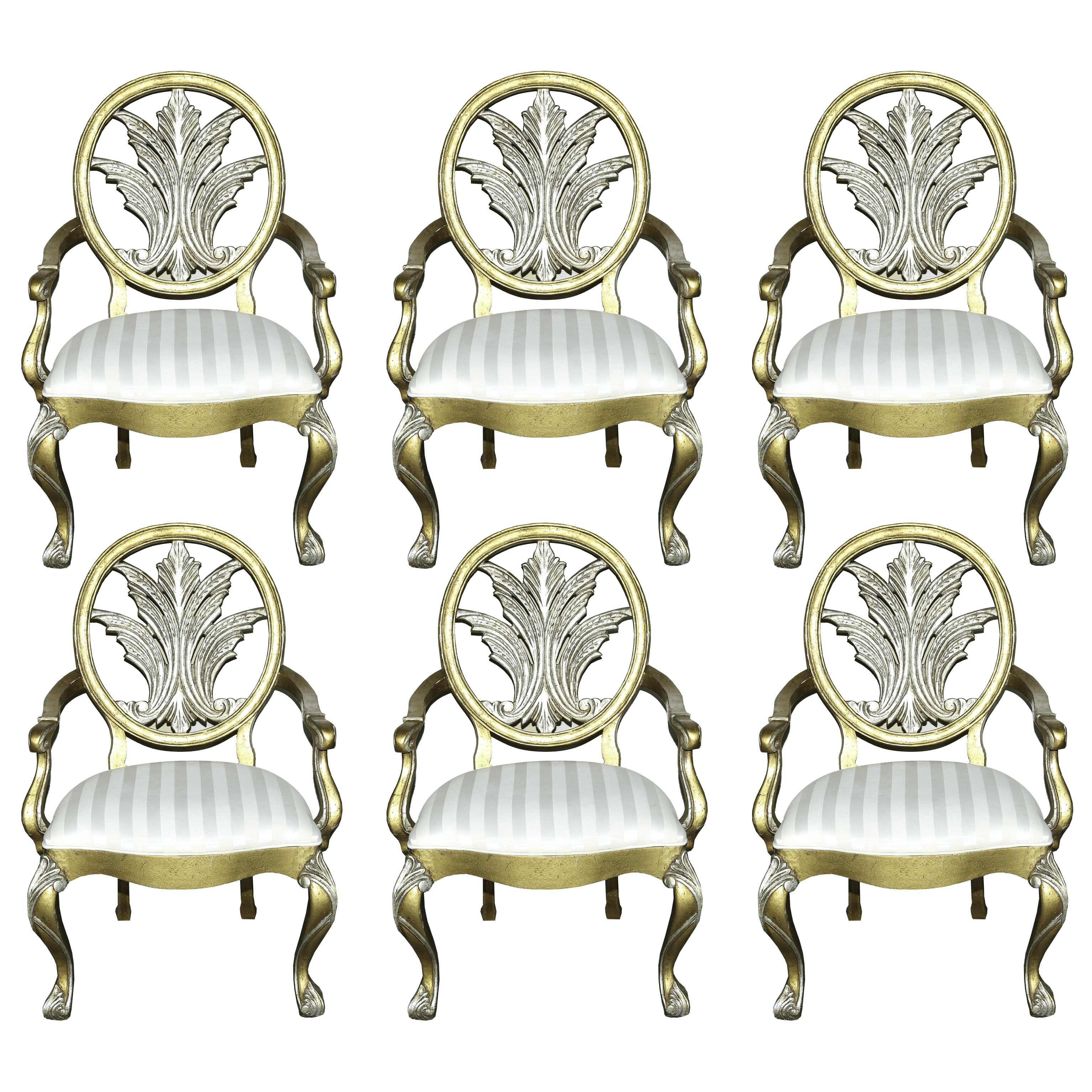 Century Furniture Louis XV Style Dining Chairs