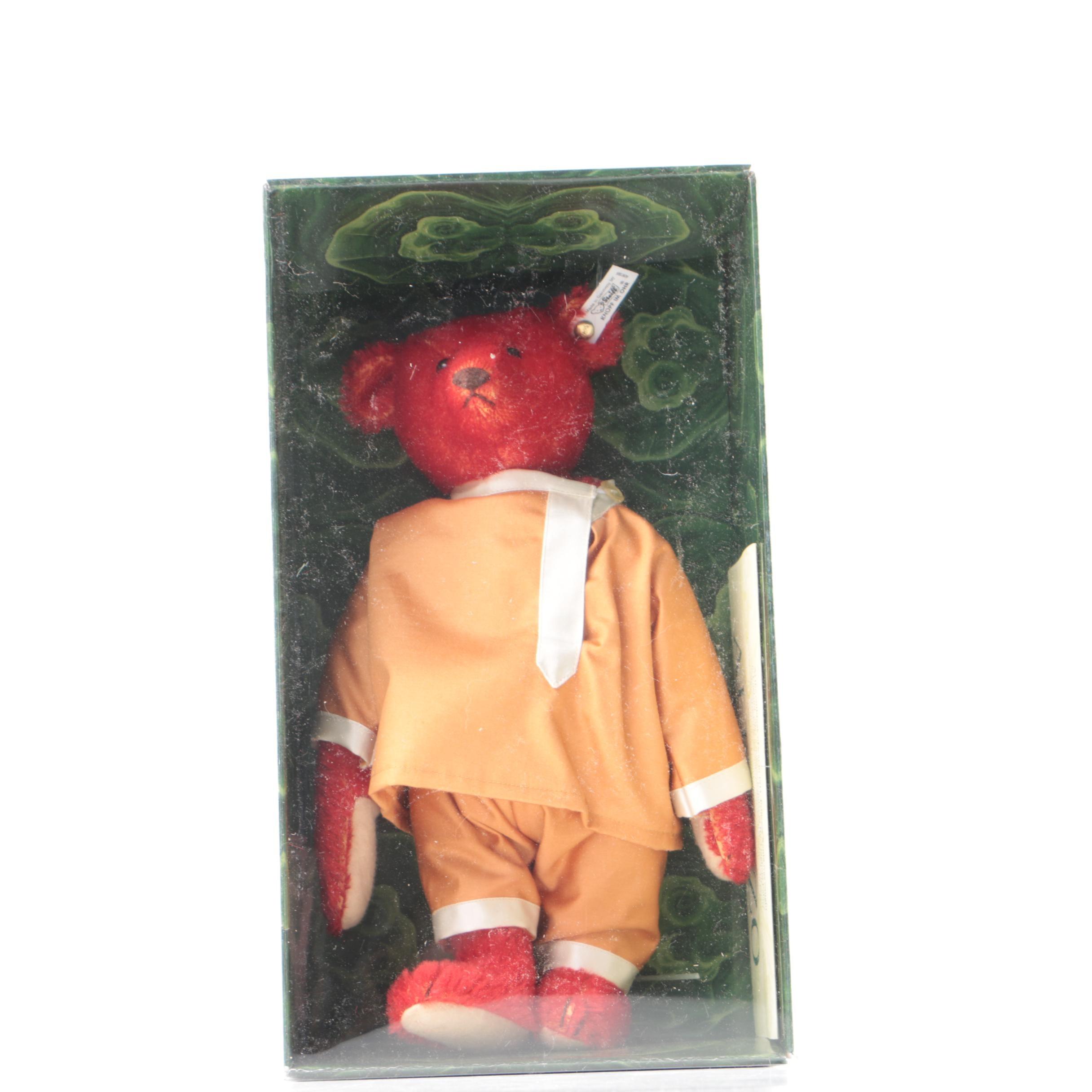 "1990 Steiff Replica of 1908 ""Alfonzo"" Teddy Bear"