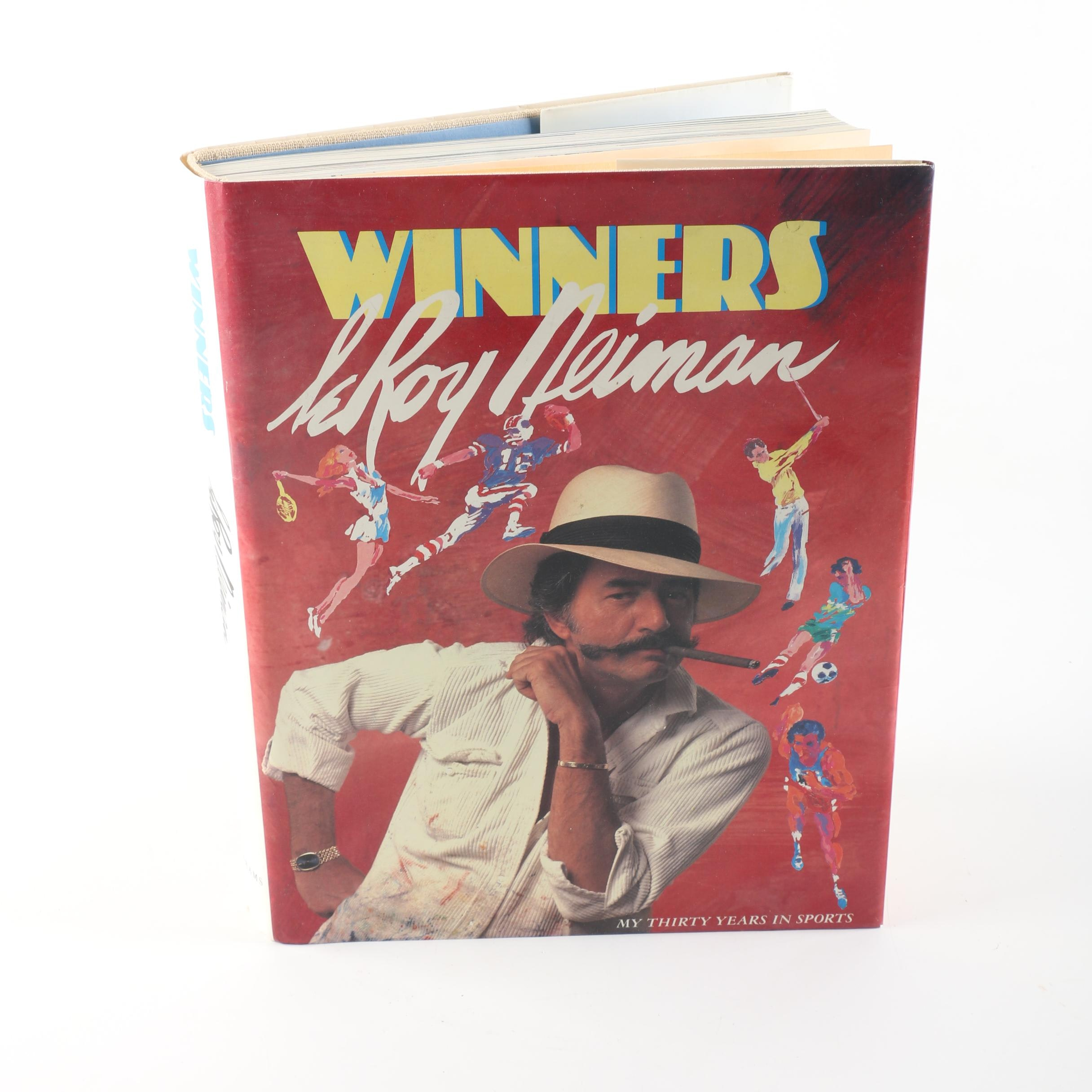 "Copy of ""Winners: My Thirty Years in Sports"" by LeRoy Neiman"