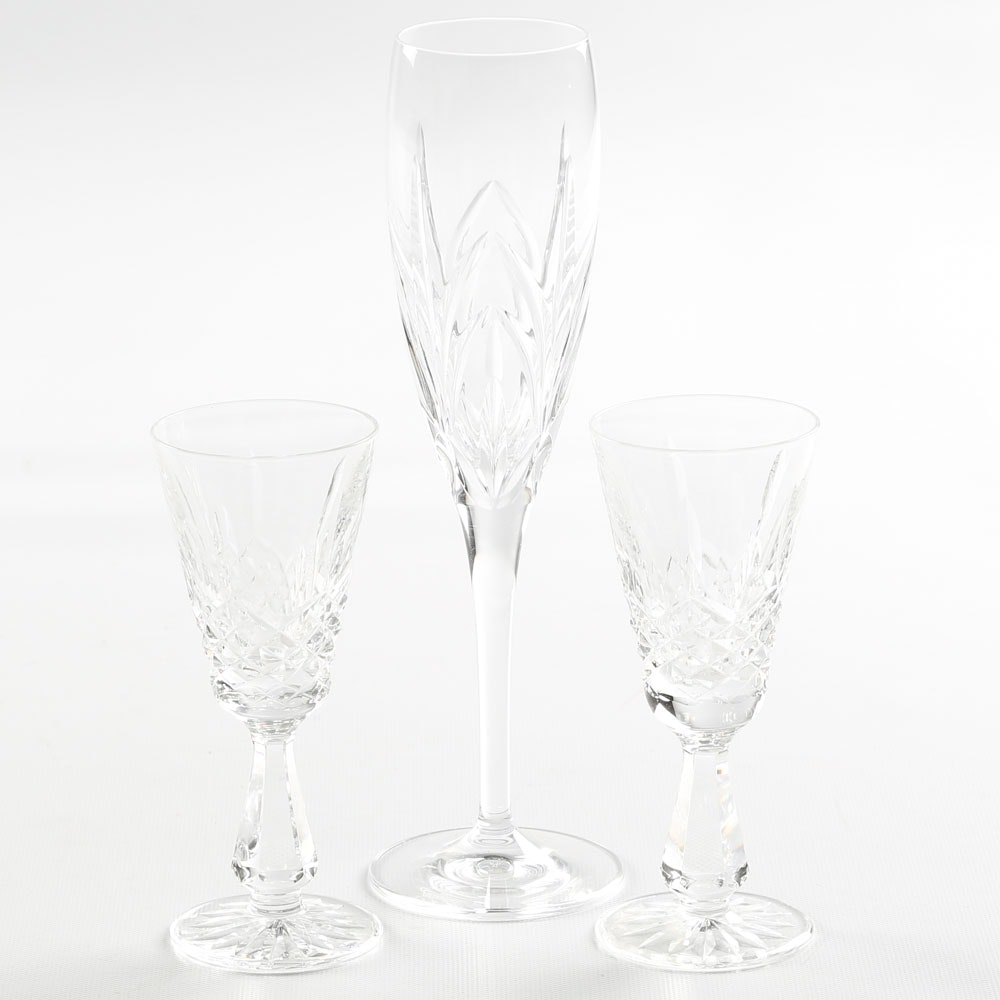 Waterford Crystal and Marquis by Waterford Stemware