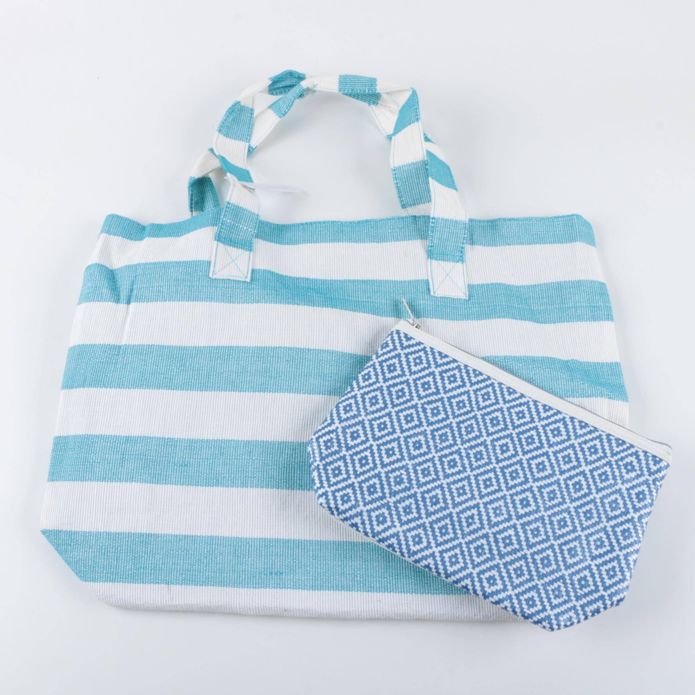 Nordstrom Cosmetic Bag and Charming Charlie Tote