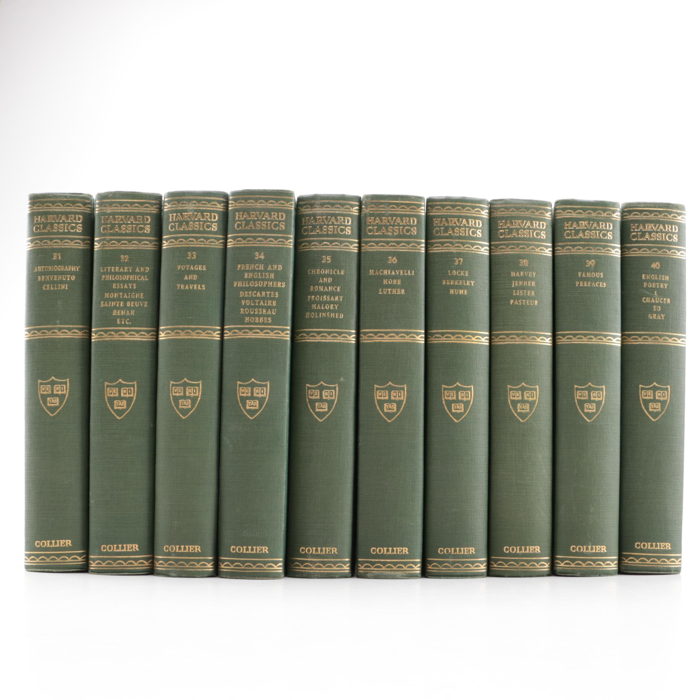 """The Harvard Classics"" Volumes 31–40"