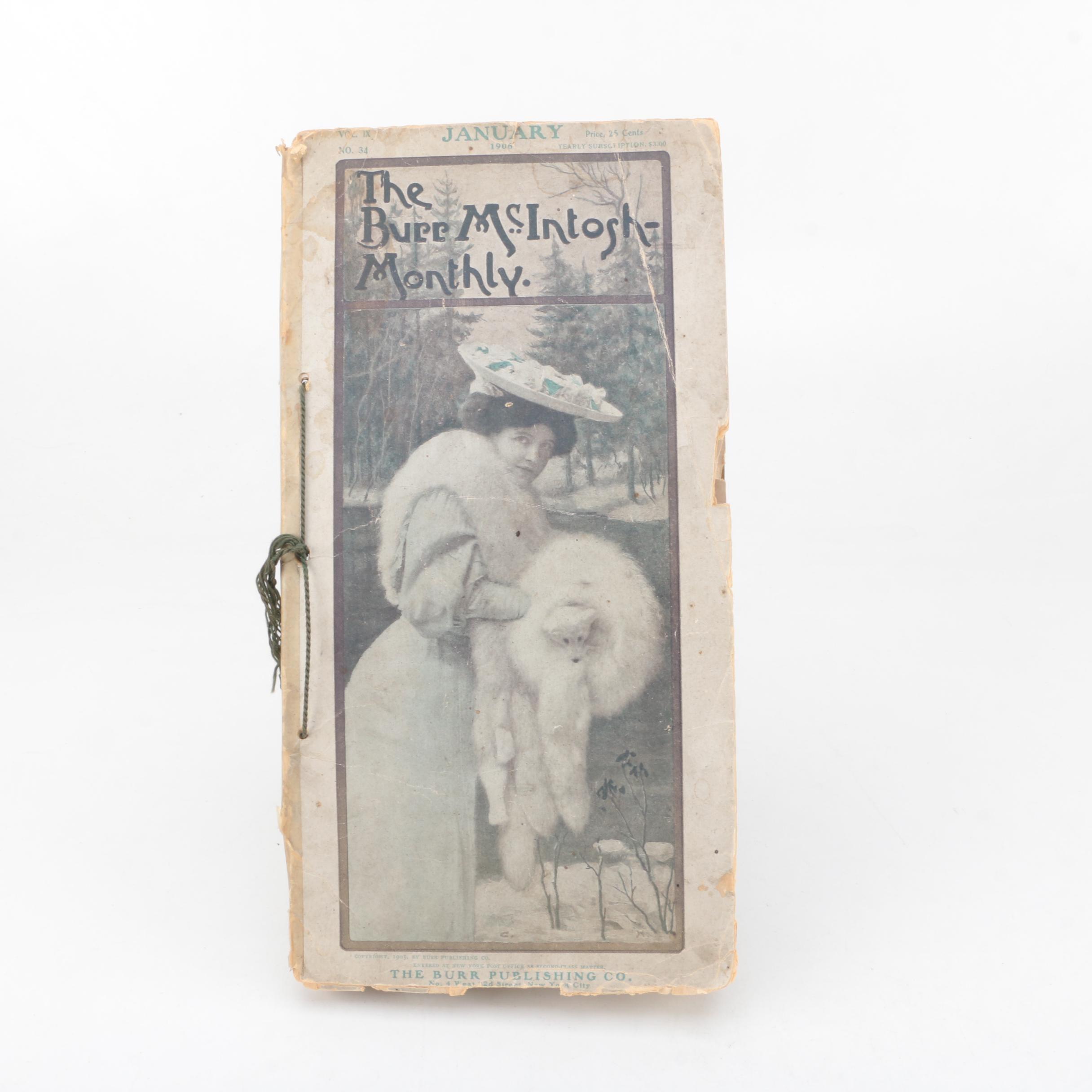 "January 1906 ""The Burr McIntosh Monthly"" Magazine"