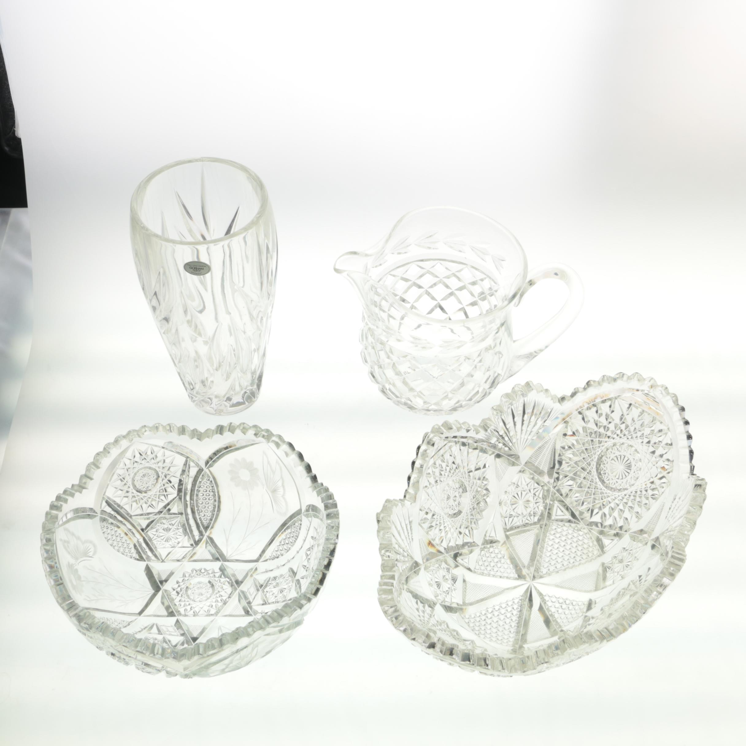 Waterford Crystal Creamer and Other Crystal Tableware