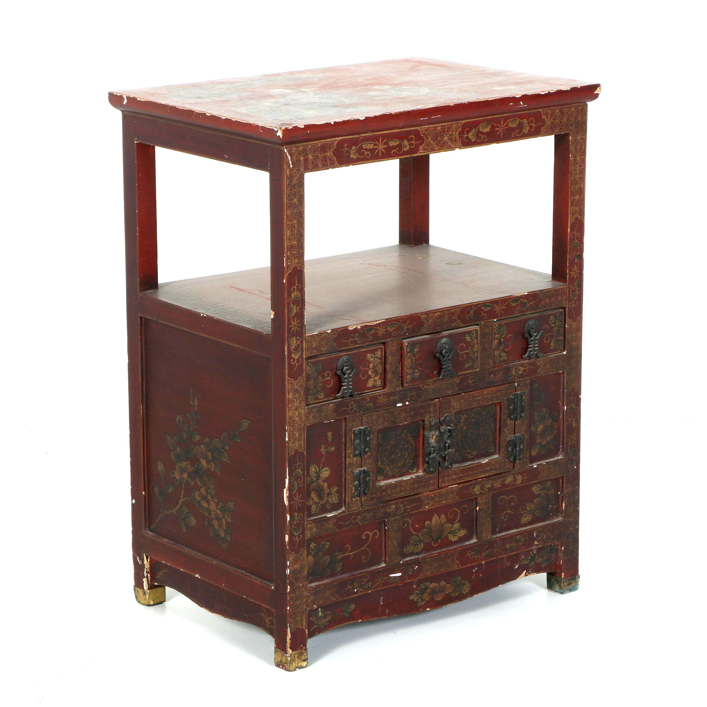 Vintage Chinese Accent Table
