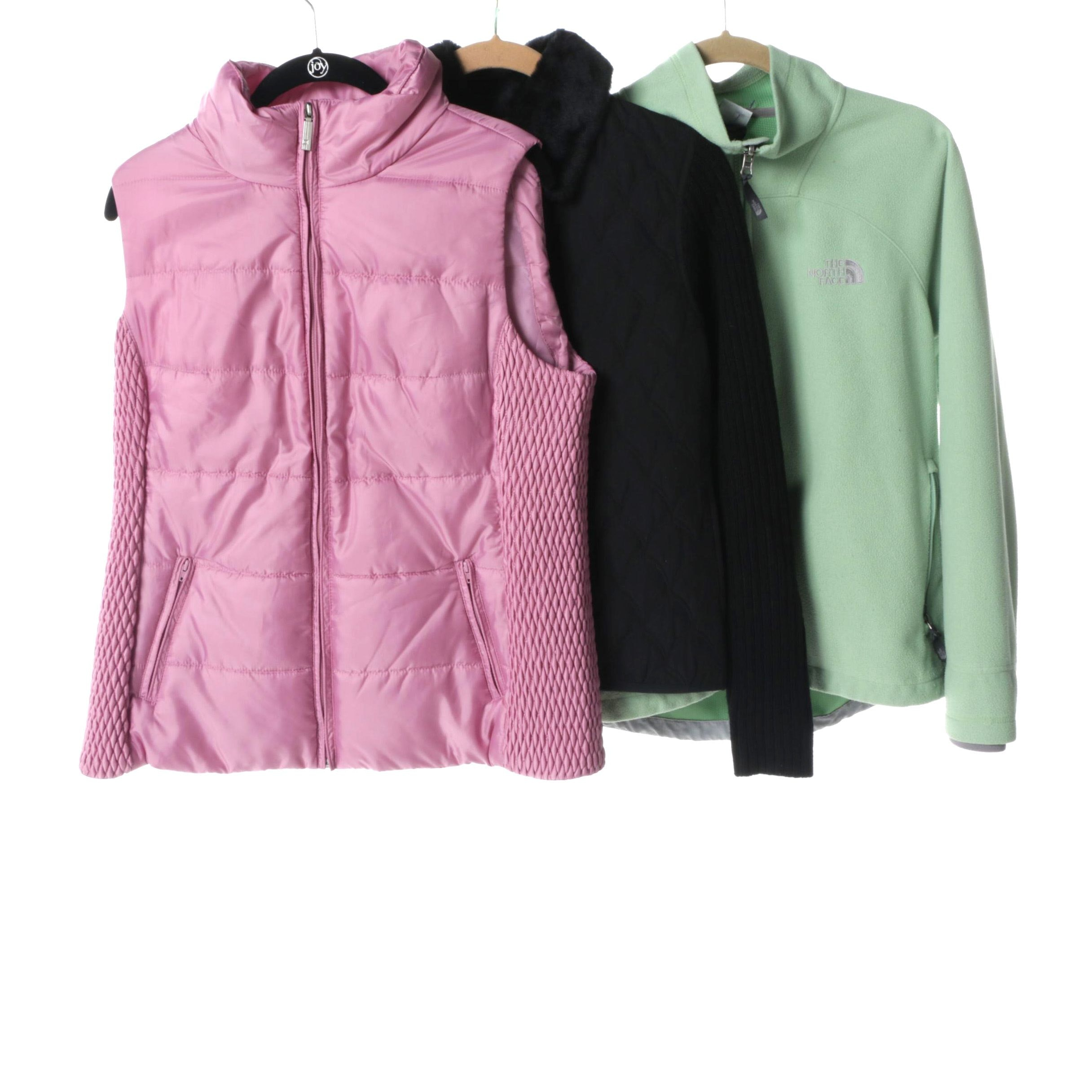 Women's Outerwear Including The North Face and Liz Claiborne
