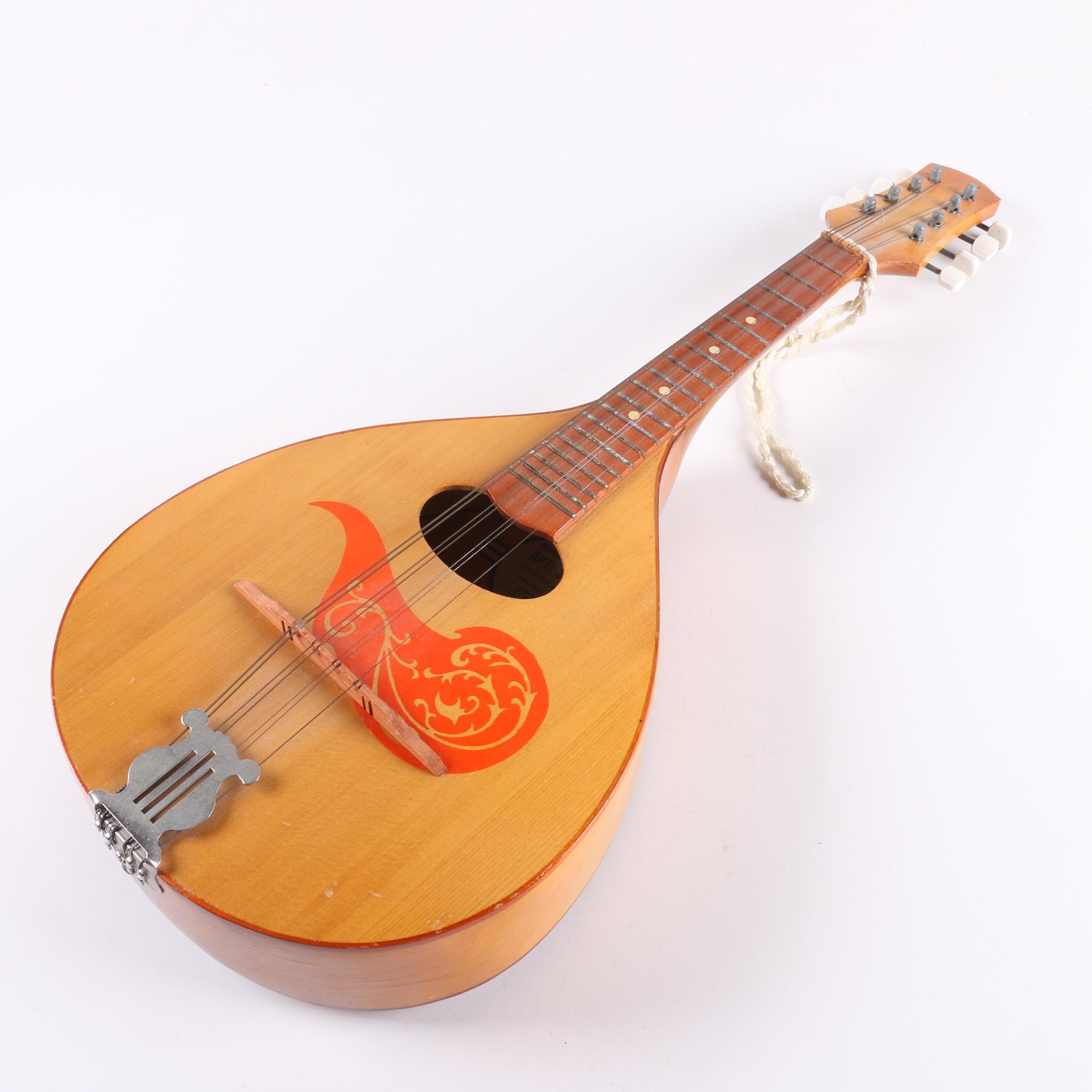 Bulgarian A-Style Mandolin