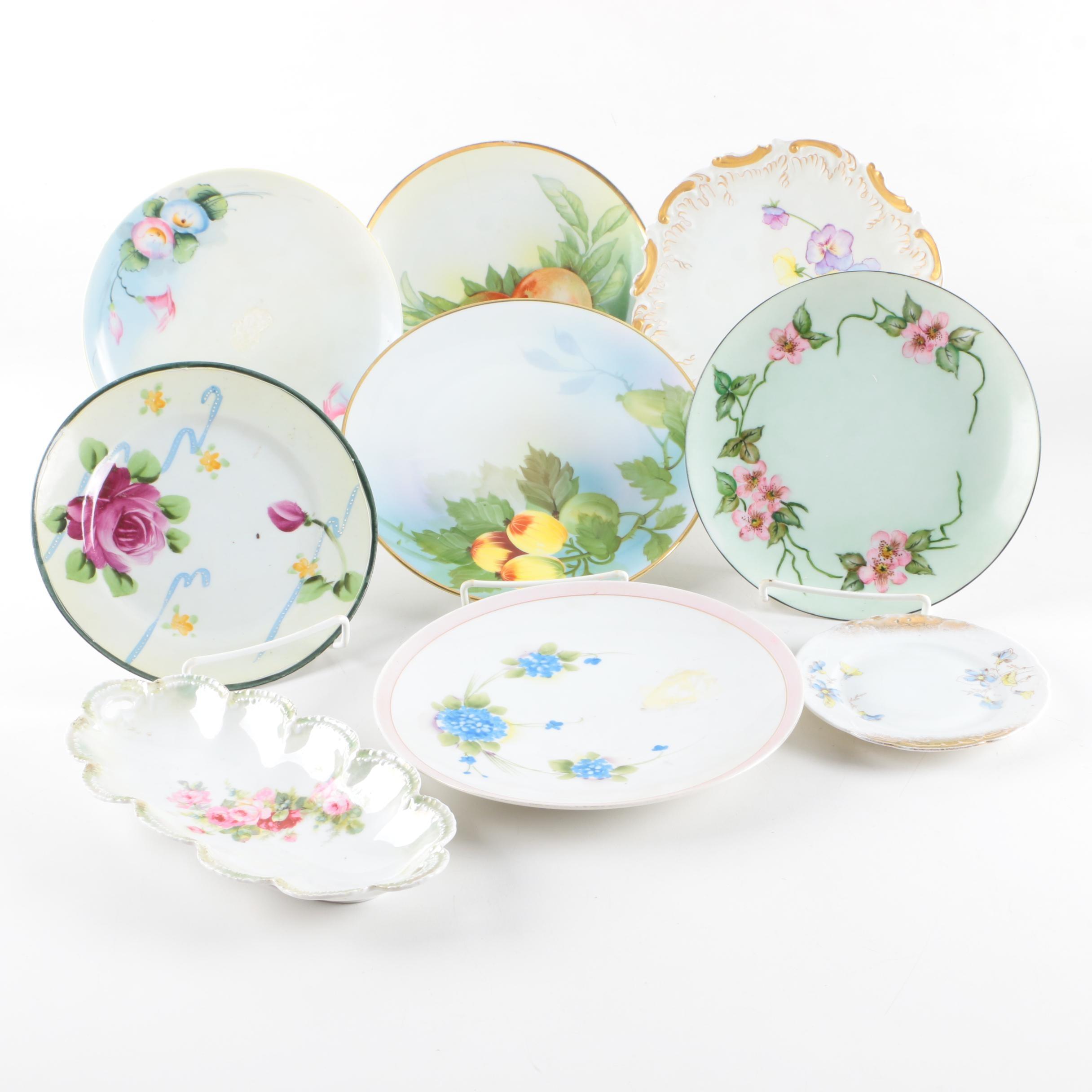 Antique and Vintage Porcelain Tableware Including Noritake
