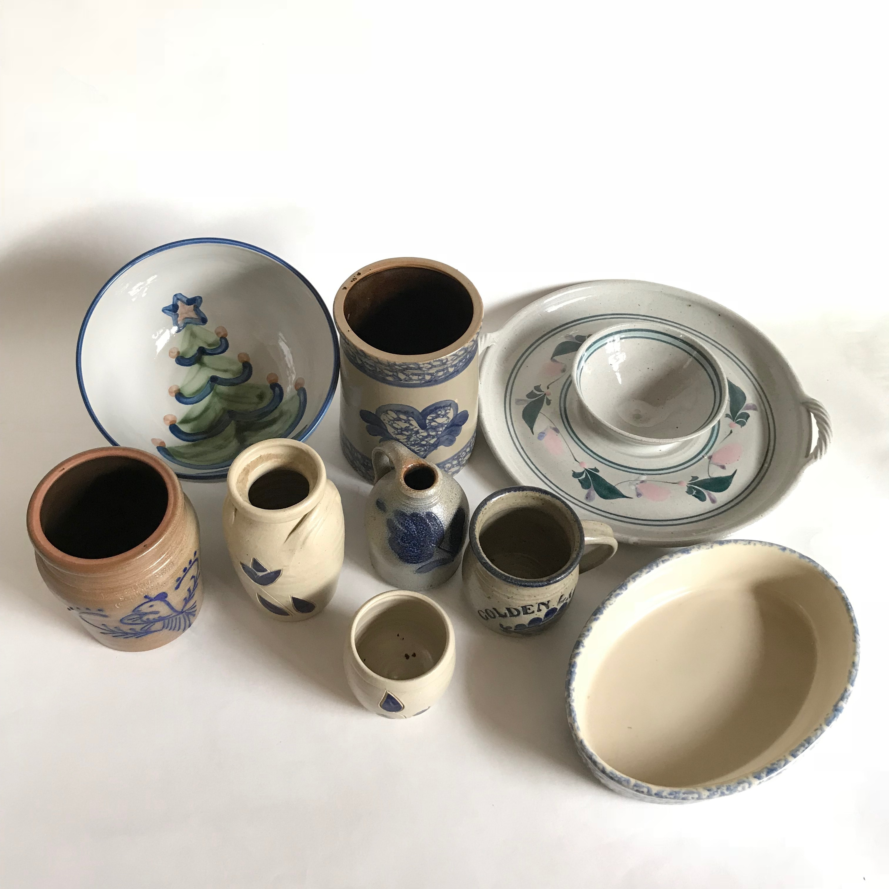 Art Pottery Including M.A. Hadley and Bybee