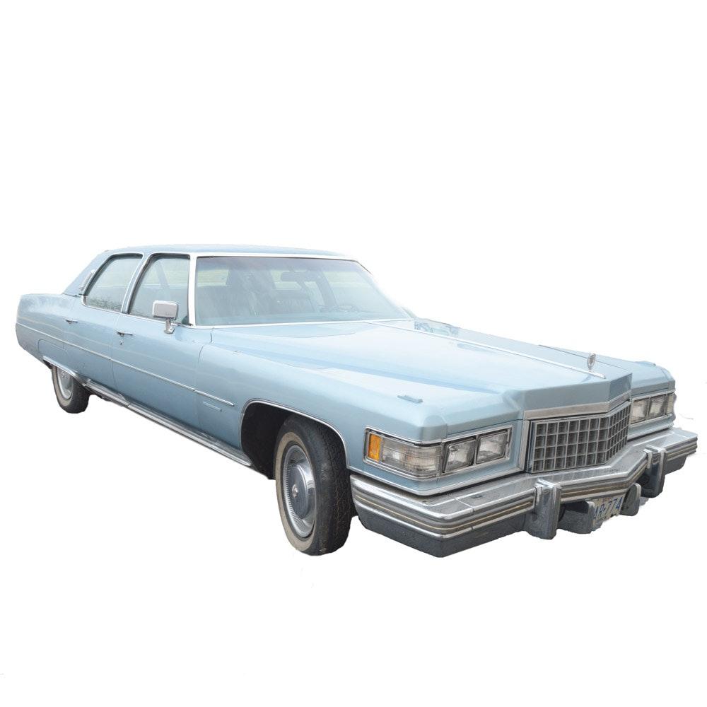 1976 Cadillac Fleetwood Brougham Luxury Sedan