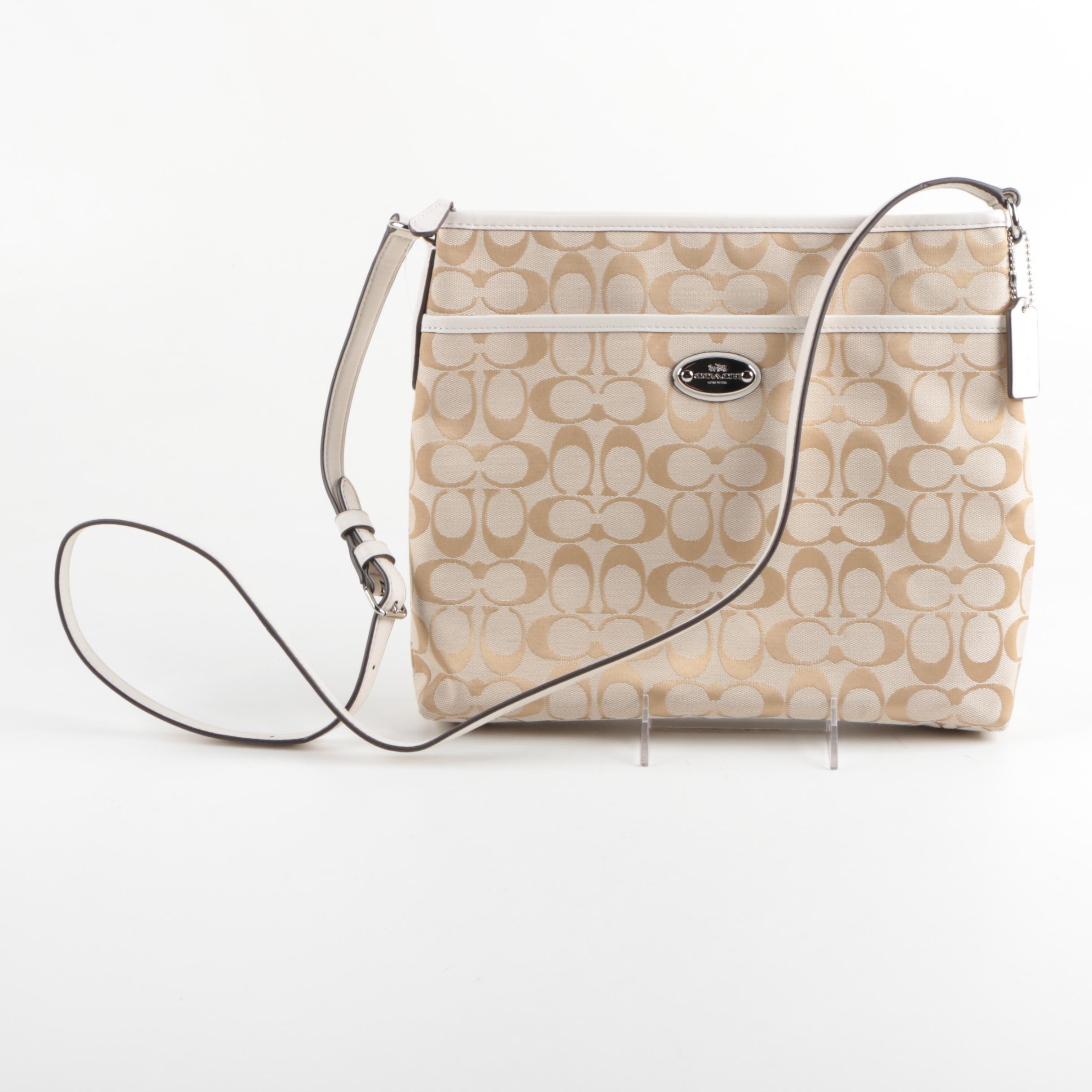 Coach Signature Canvas Crossbody Bag