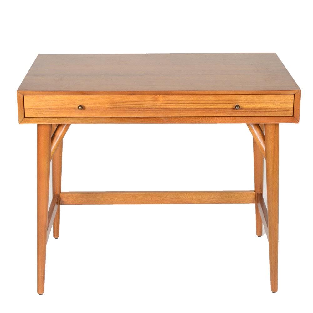 West Elm Modern Style Acacia Veneer Desk