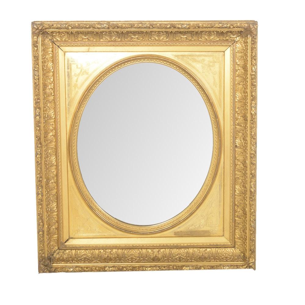 Vintage Gilt Wall Mirror