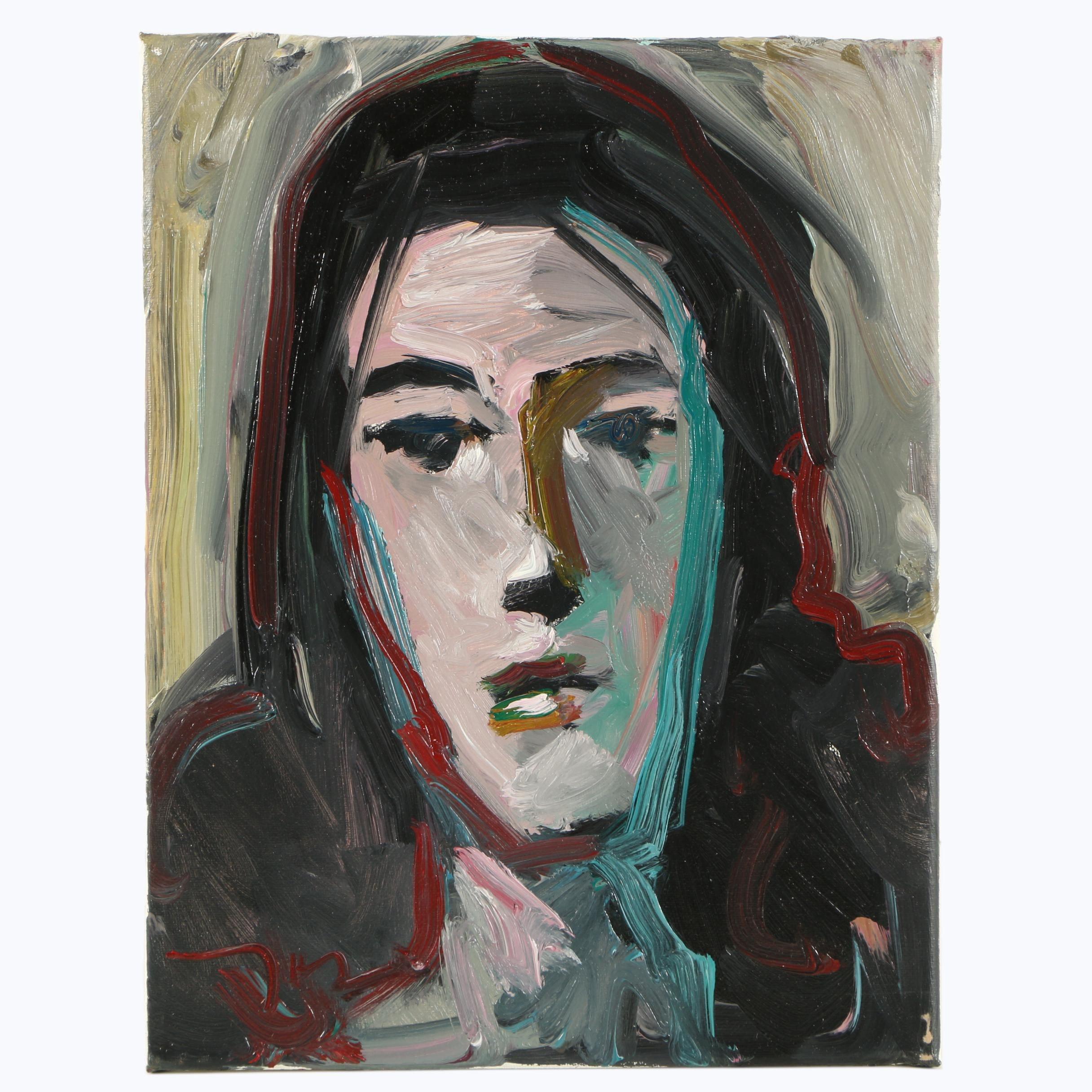 """Jose Trujillo Oil Painting """"Beautiful"""""""