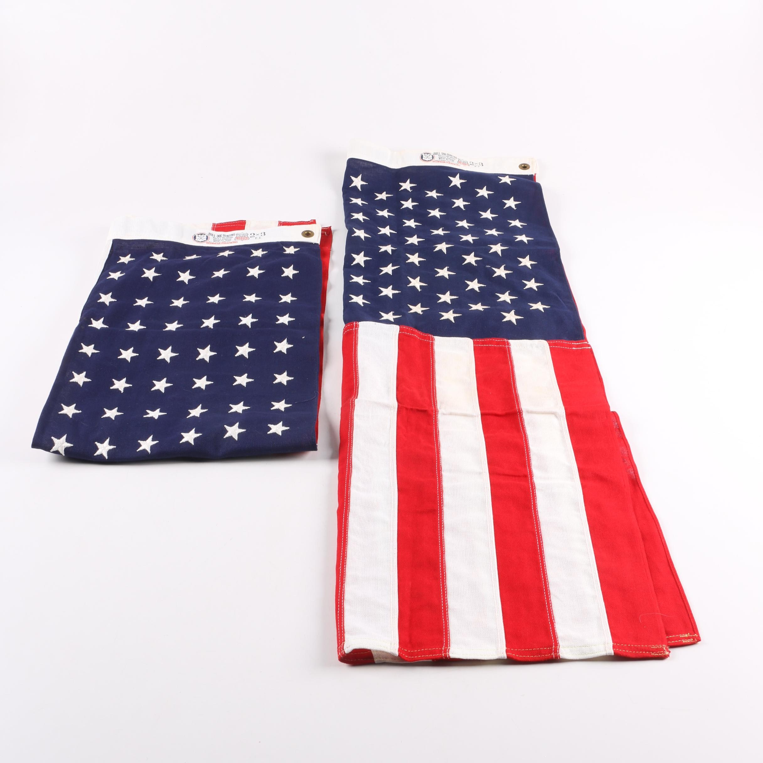 Forty Eight and Forty Nine Star United States Flag