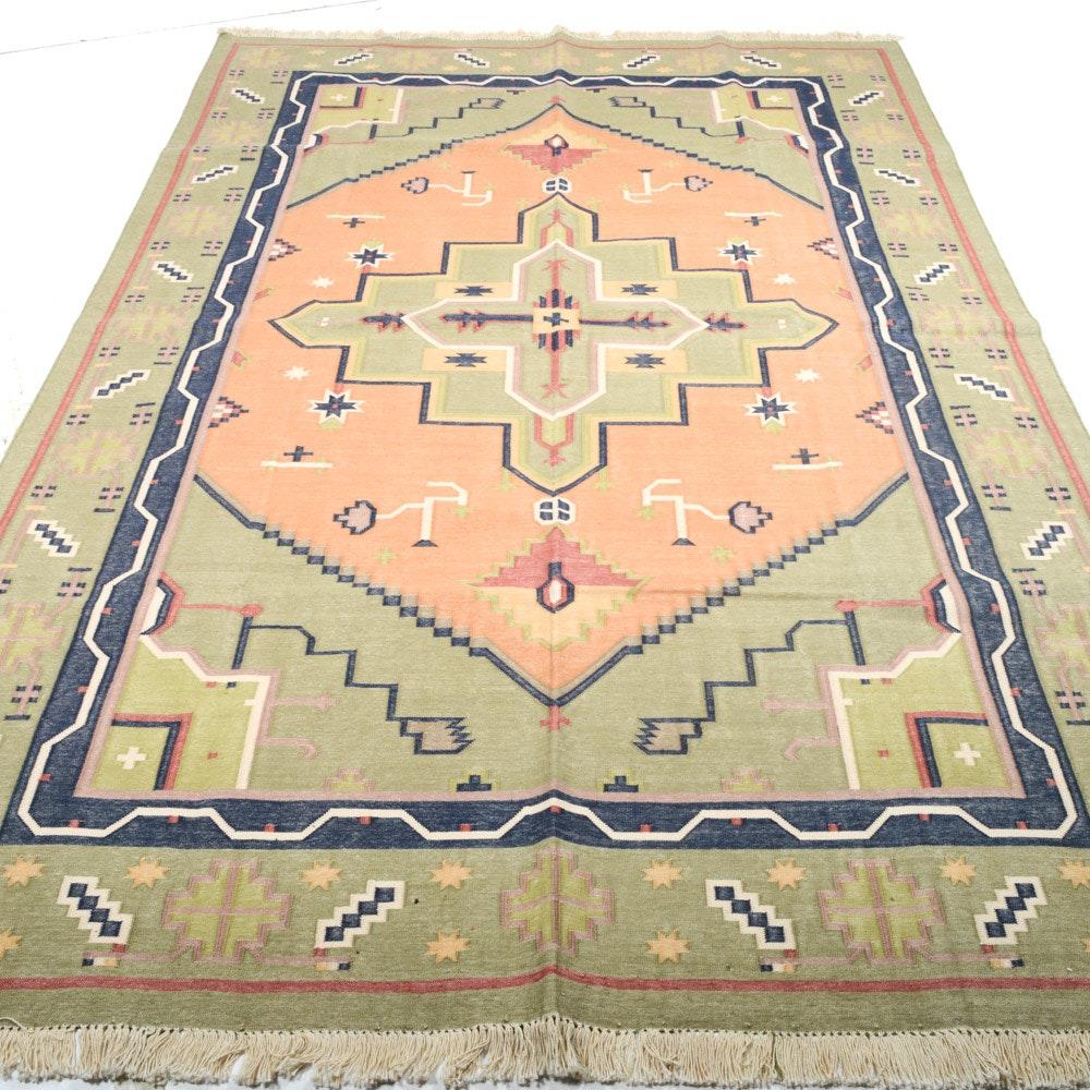 Fine Handwoven Turkish Kilim Rug