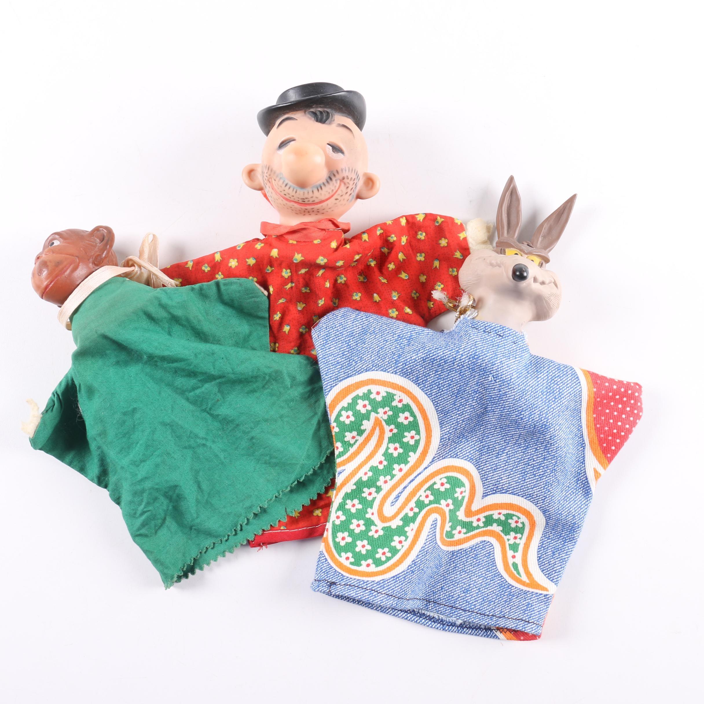 Vintage Gundikin Puppets