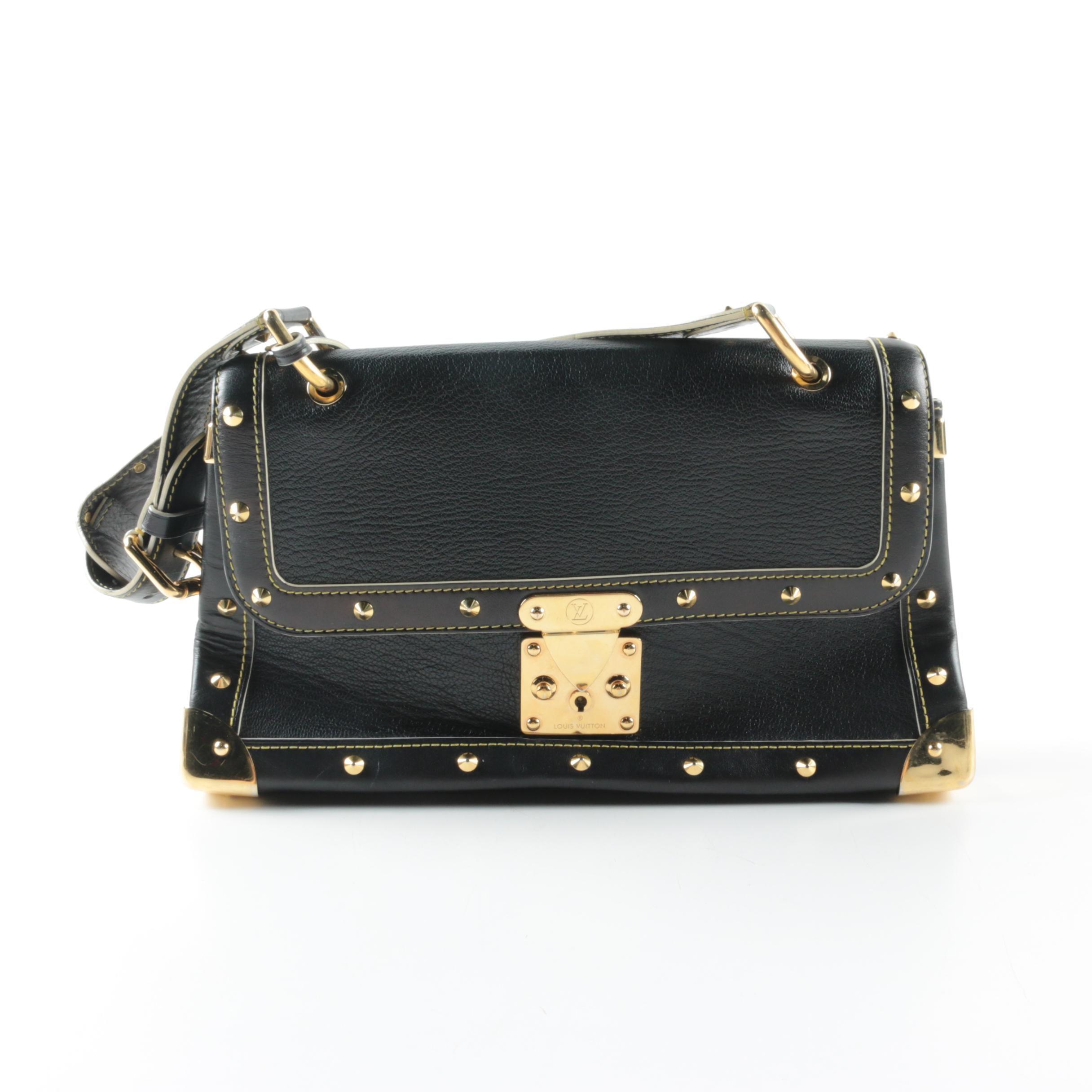 Louis Vuitton Suhali Le Talentueux Black Leather Handbag