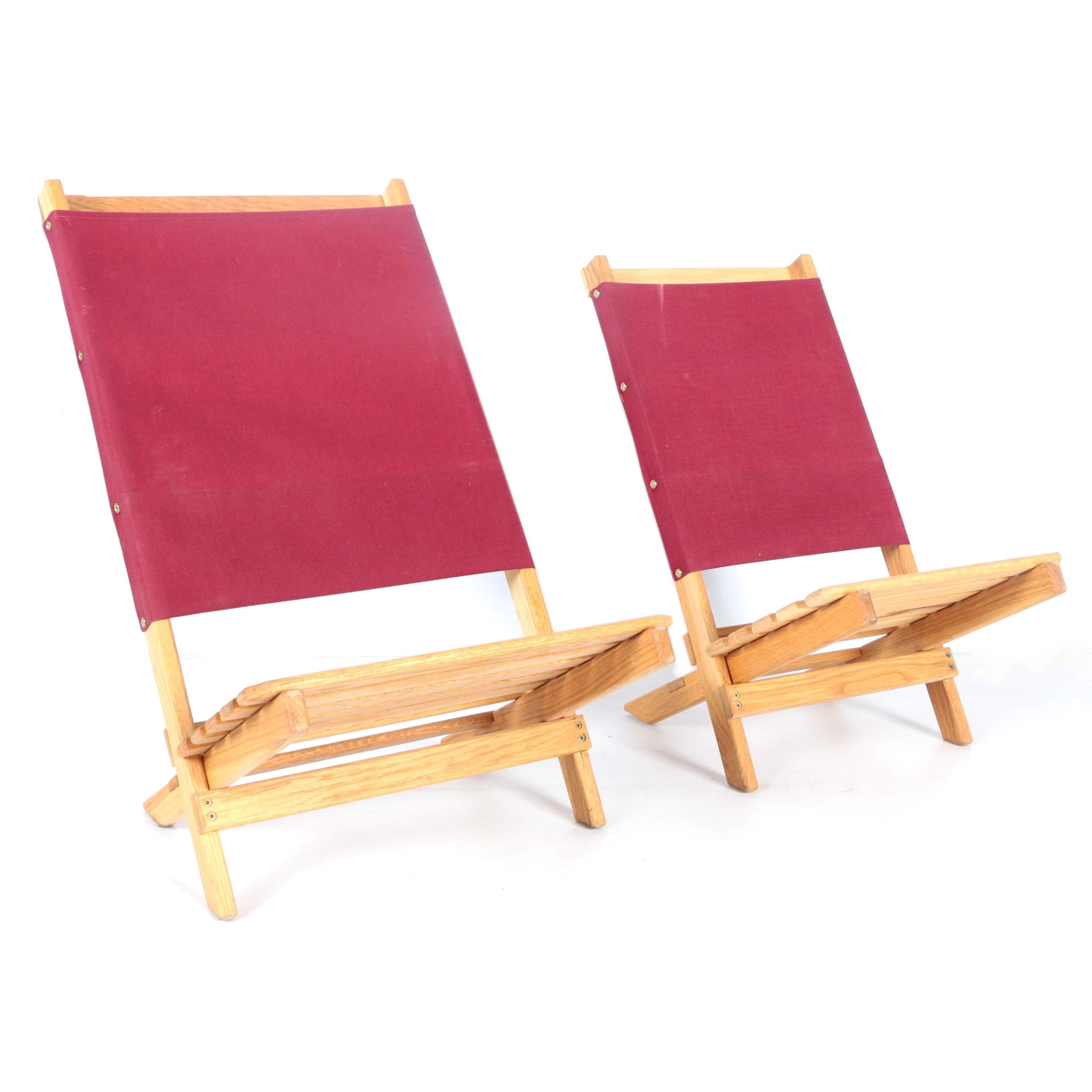 Adult and Child Folding Chairs by Gary Osteen Woodworks