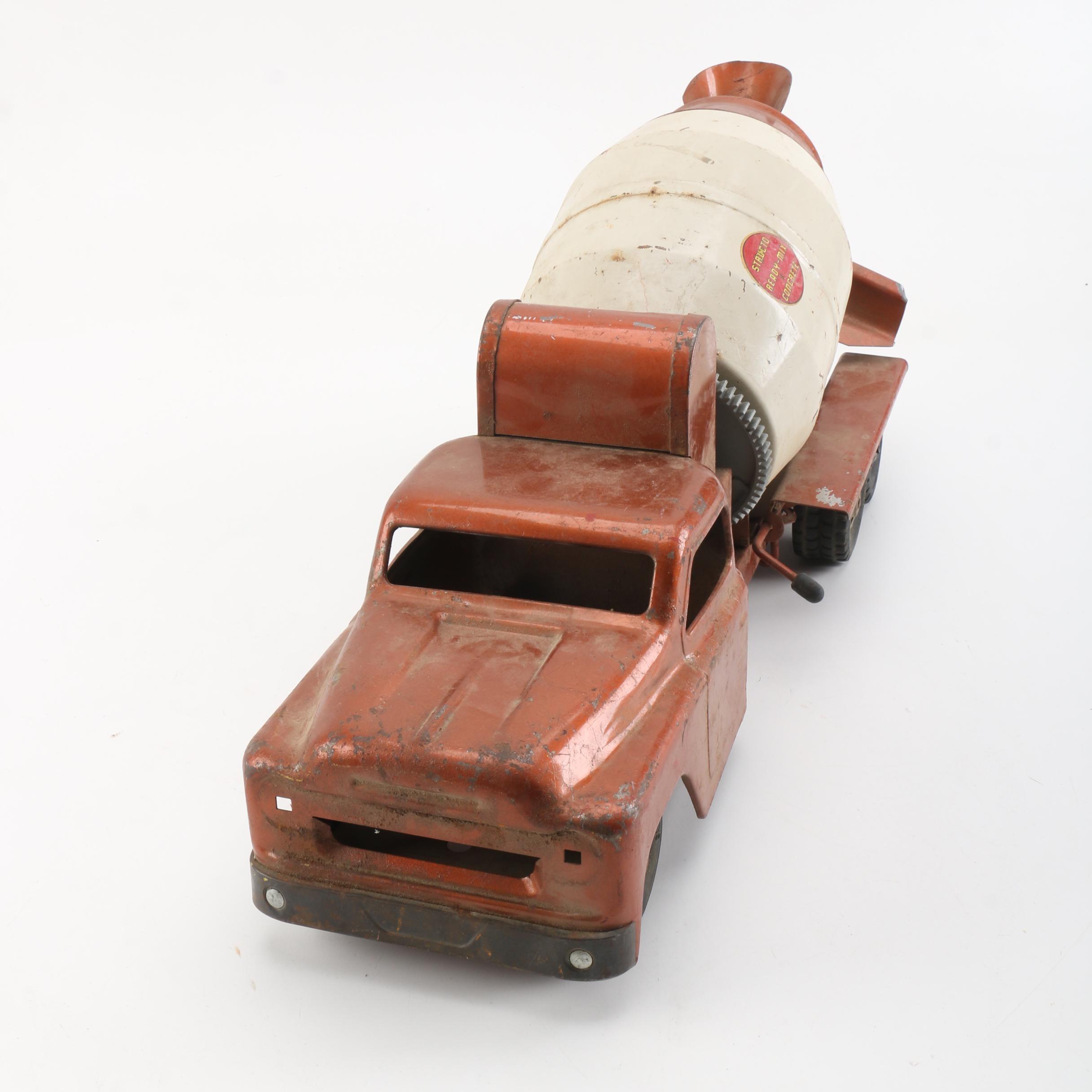 1950s Structo Pressed Steel Ready-Mix Concrete Truck