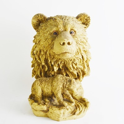 Resin Bear Sculpture