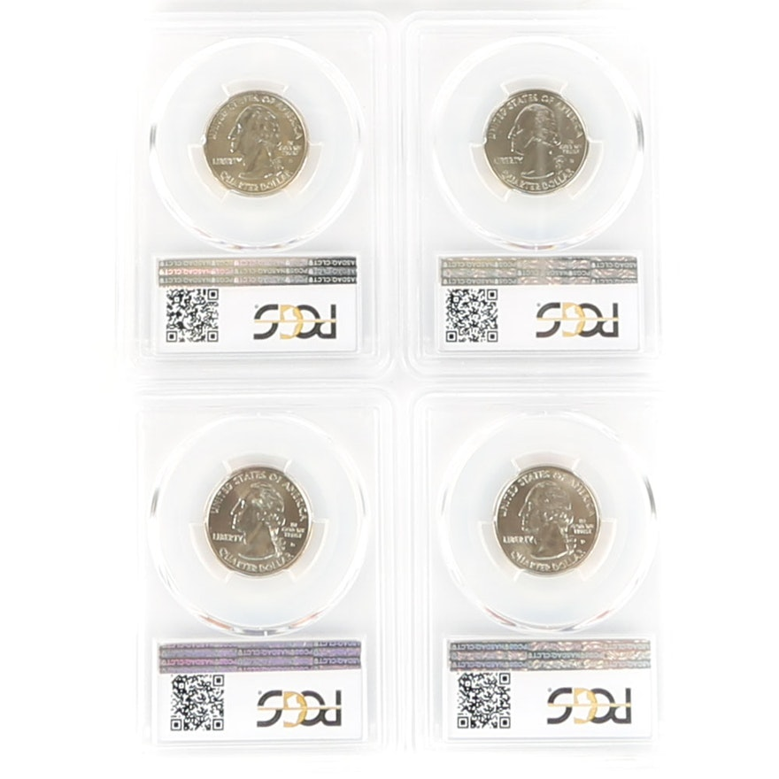 PCGS 1999 to 2000 Graded State Quarters