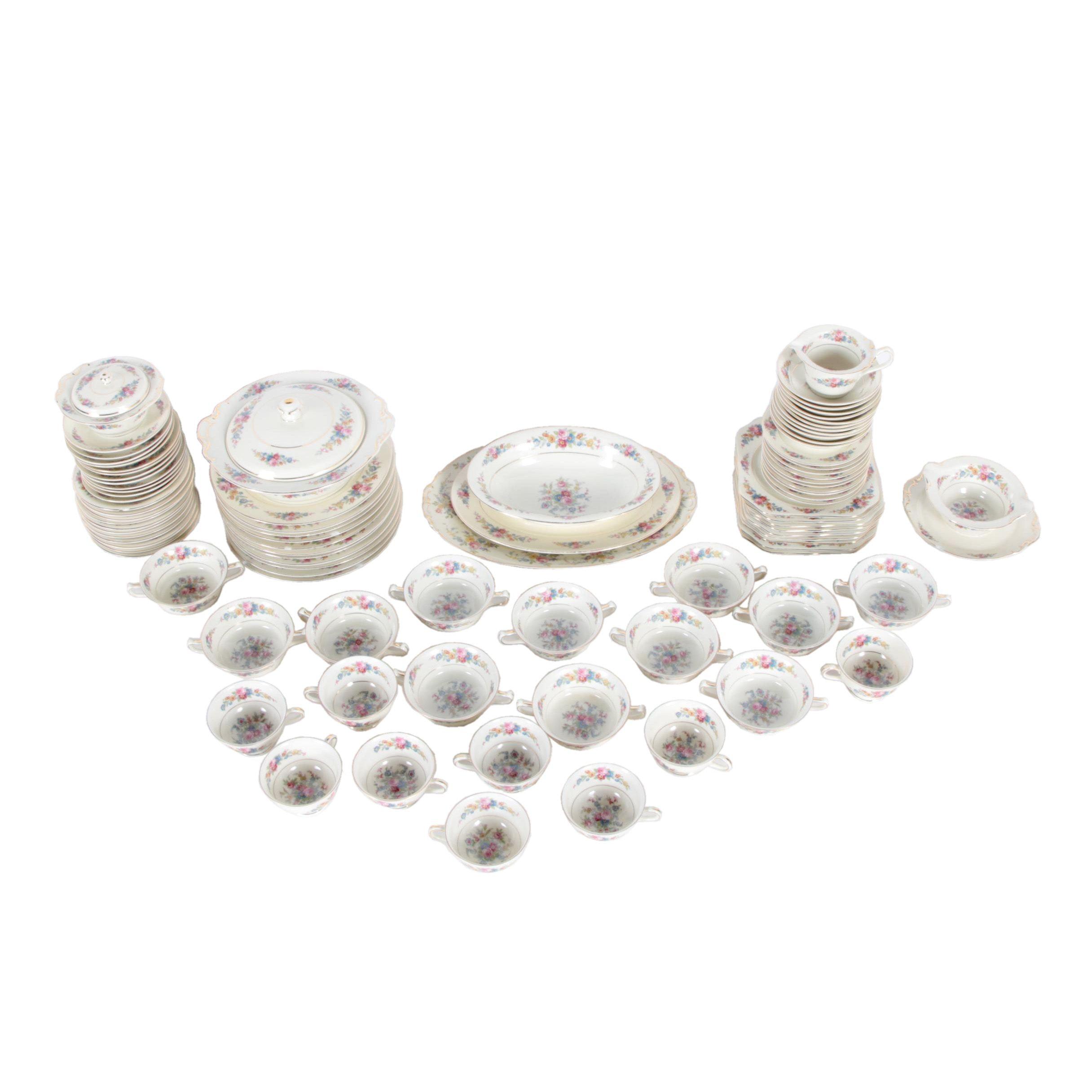 "KPM ""Royal Ivory"" German Porcelain Dinnerware 1934-45"