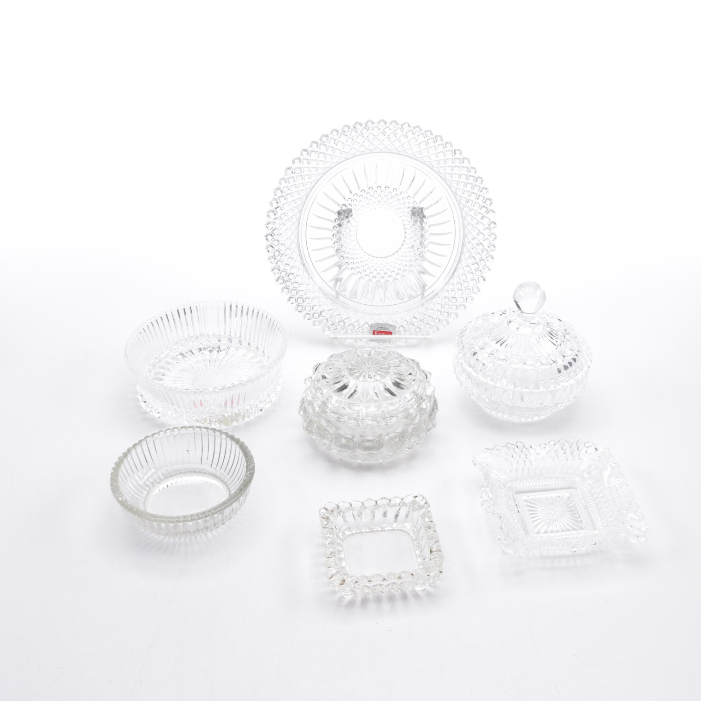 Fostoria Glass Serveware
