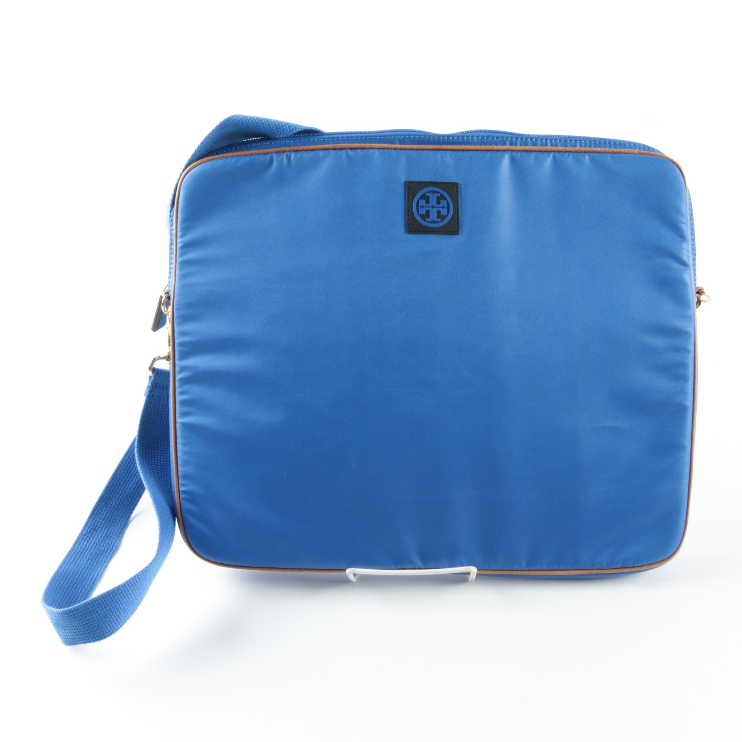 Tory Burch Blue Laptop Bag